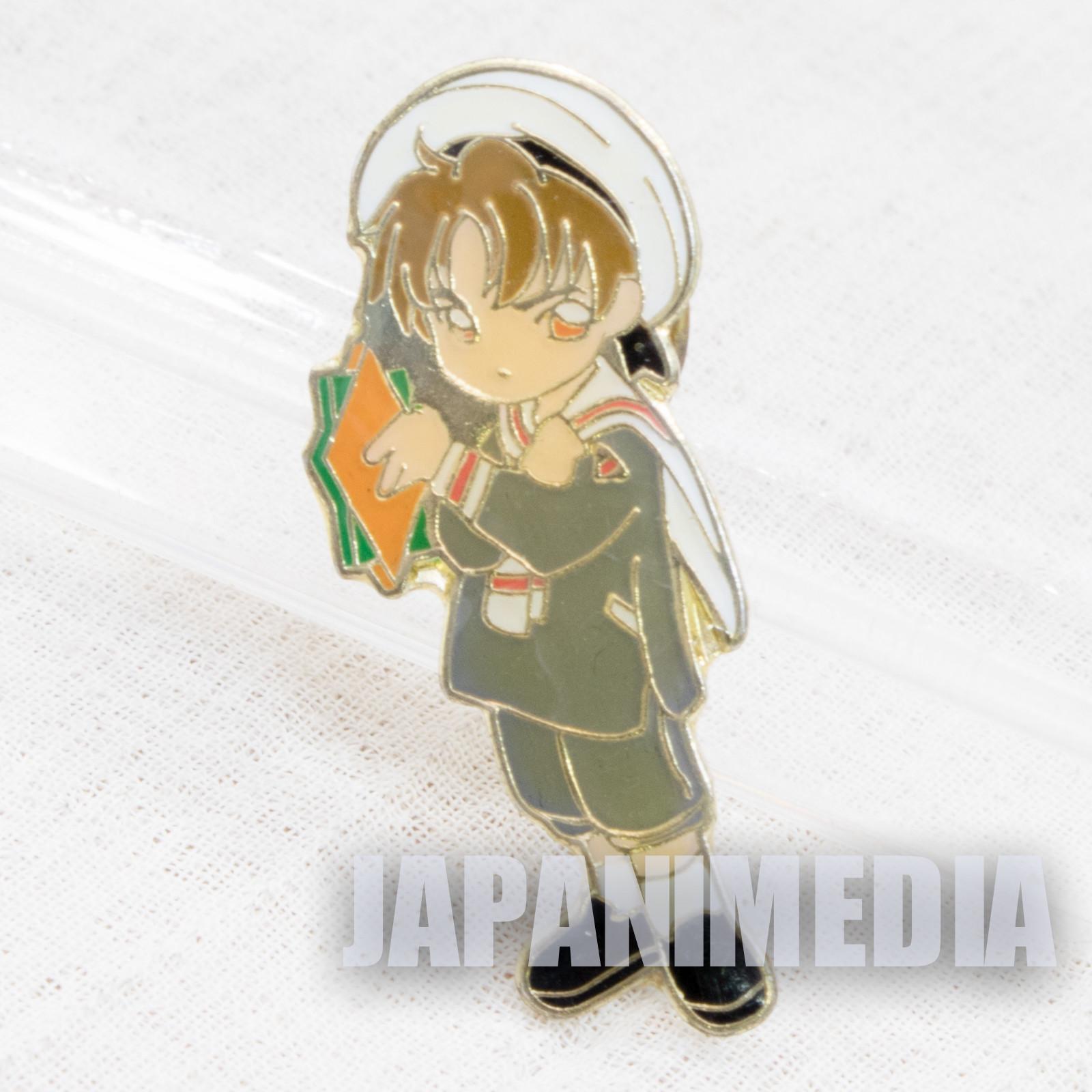 Cardcaptor Sakura Syaoran Li Sakura Pins (School uniform ver.) CLAMP JAPAN ANIME #13