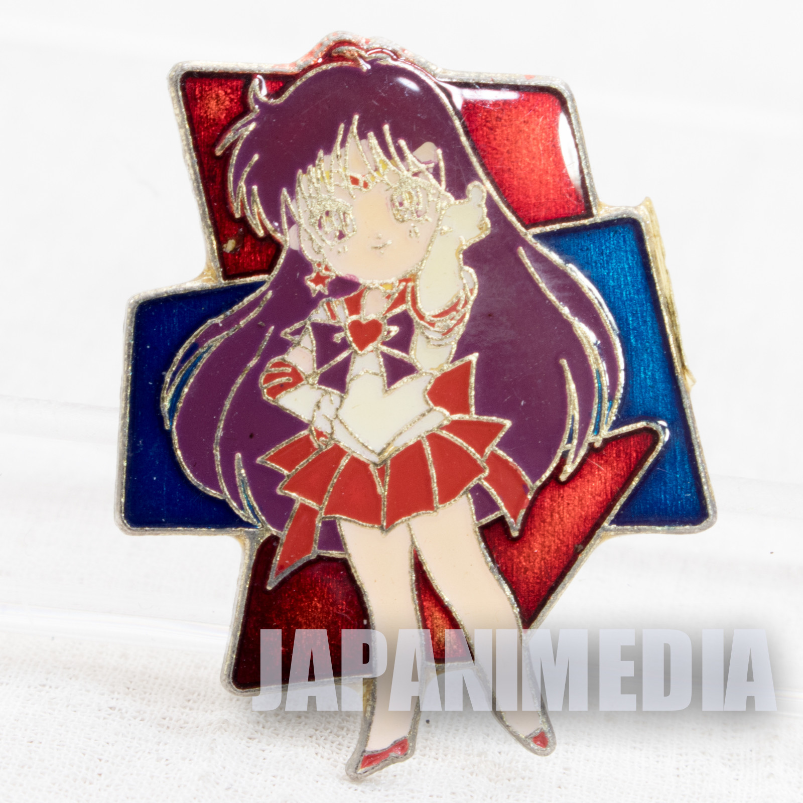 Sailor Moon Sailor Mars (Rei Hino) Metal Pins JAPAN ANIME