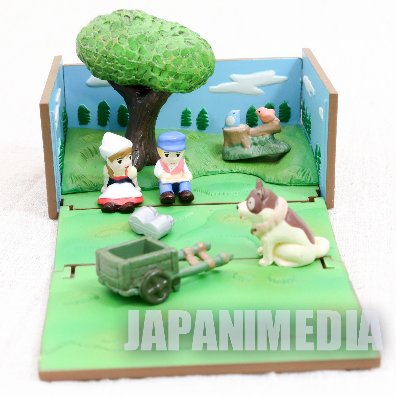 A Dog of Flanders Miniature Diorama Figure Box World Masterpiece Theater ANIME