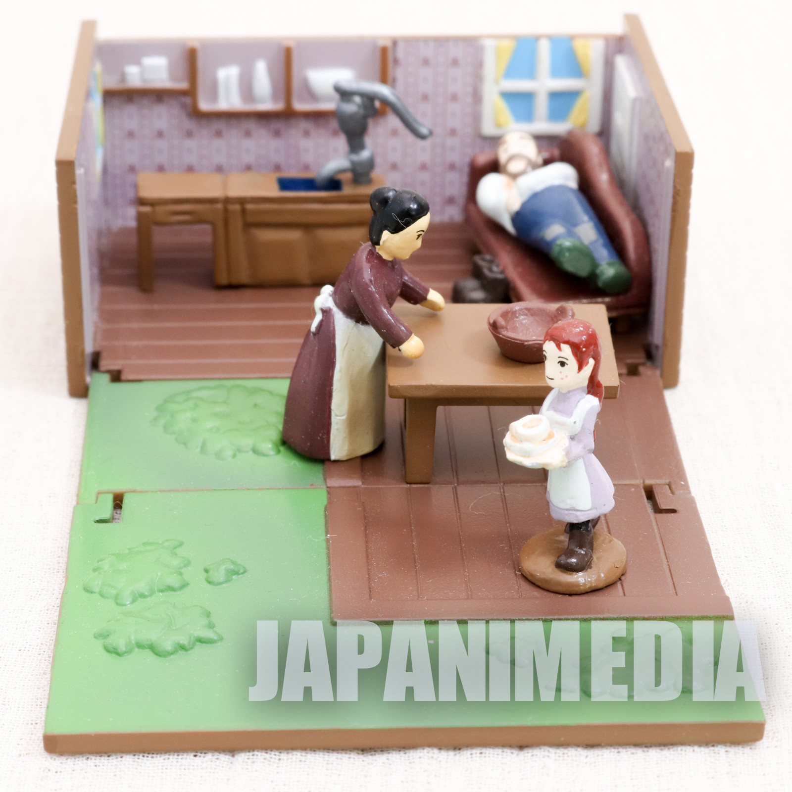 Anne of Green Gables Miniature Diorama Figure Box World Masterpiece Theater ANIME