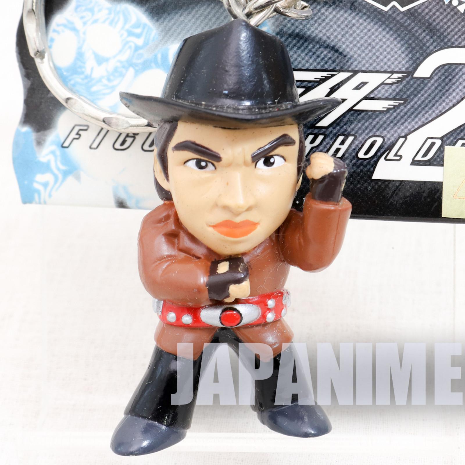 Kamen Maked Rider Hayato Ichimonji Figure Key Chain JAPAN ANIME TOKUSATSU