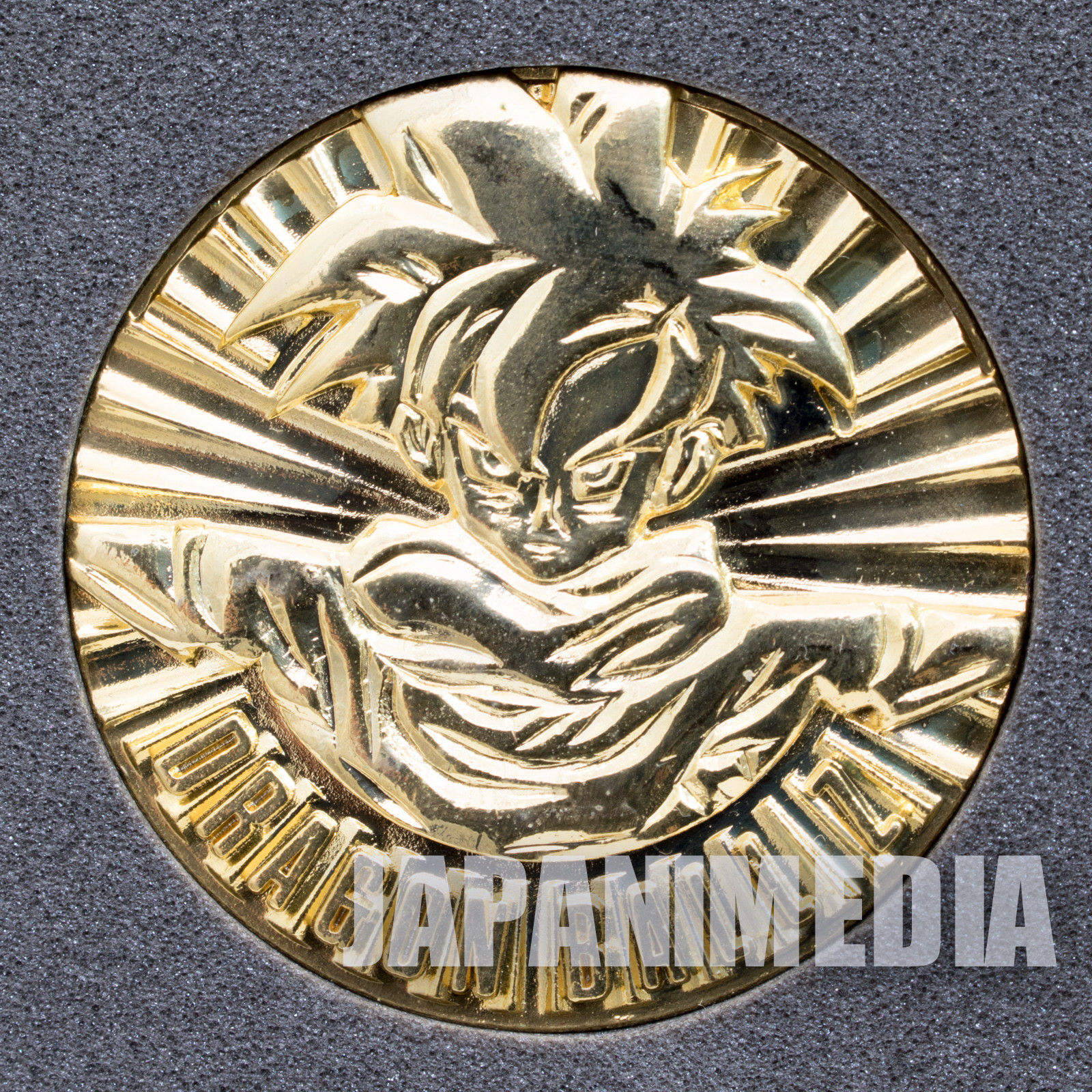 Dragon Ball Z Toei Anime Fair Medal Super Saiyan Son Gohan JAPAN ANIME
