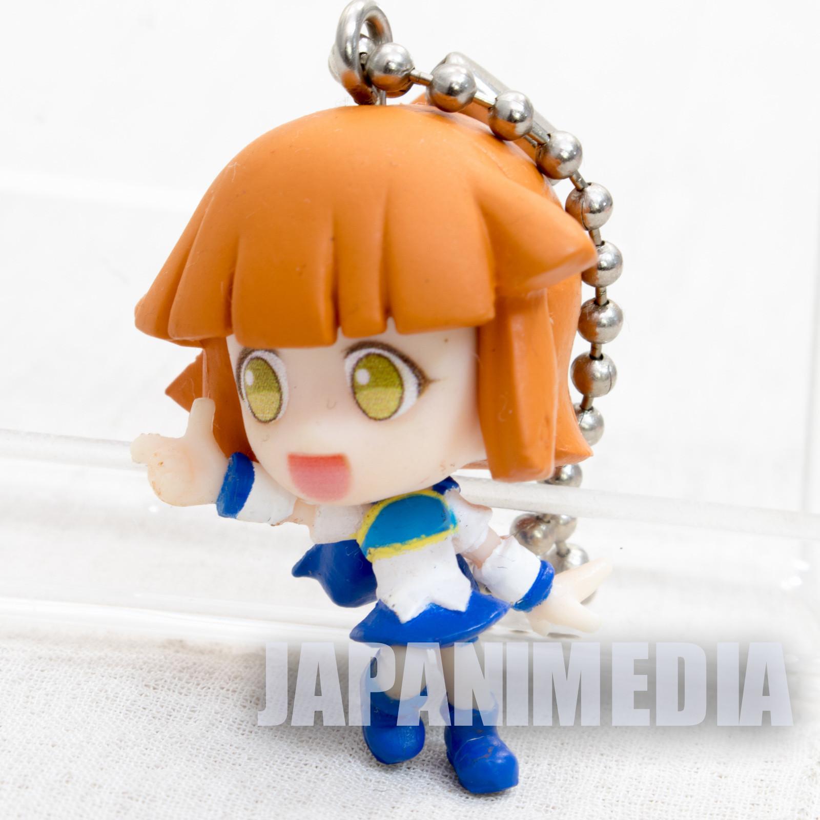 Puyopuyo!! Quest Arle Nadja Swing Figure Ball Keychain JAPAN GAME SEGA