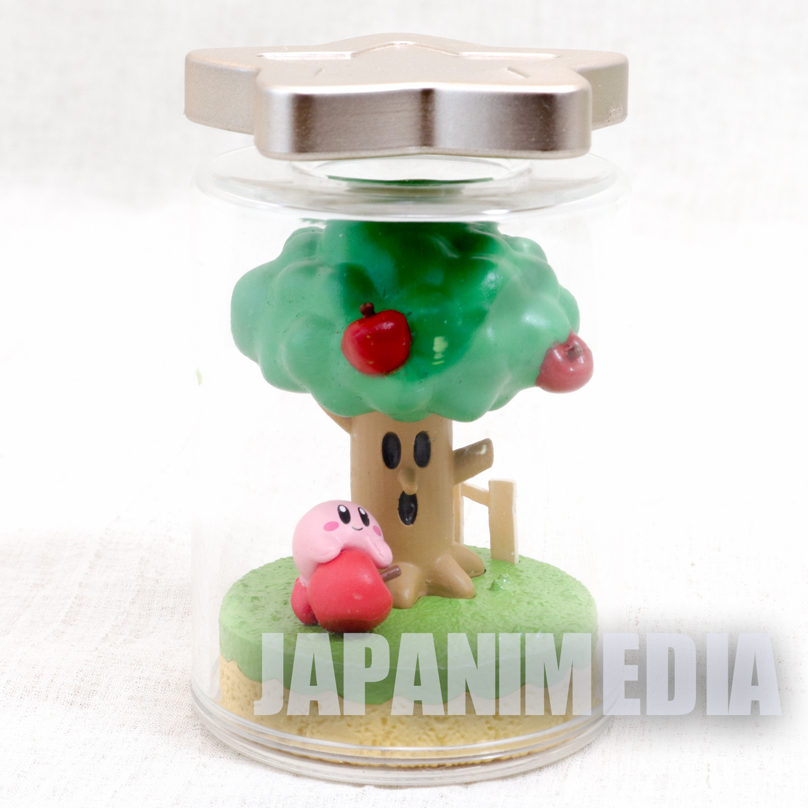 Kirby Super Star Terrarium Collection Figure #1 Kirby & Whispy Woods JAPAN 2