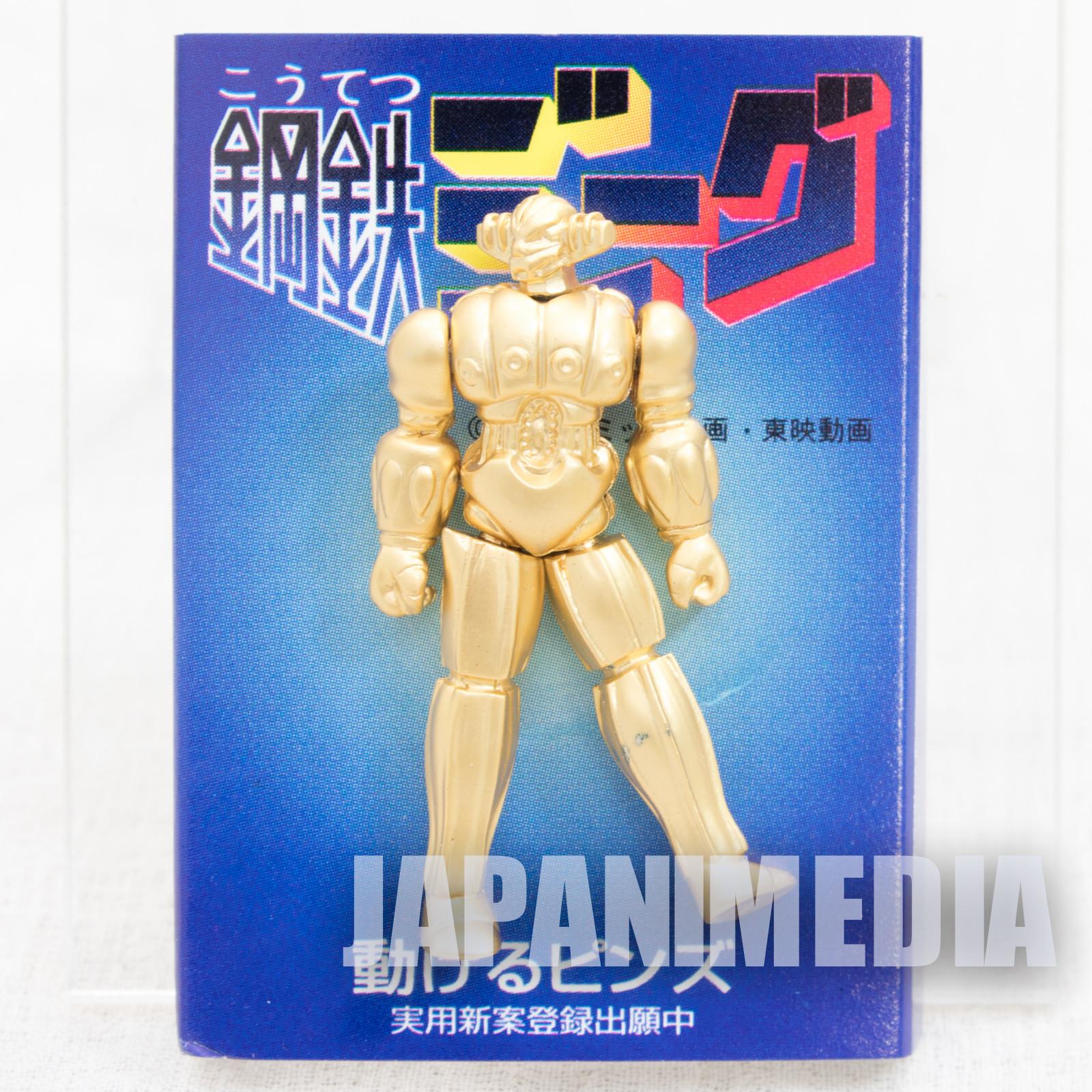 Retro Rare! Steel Jeeg Action Pins JAPAN ANIME MANGA