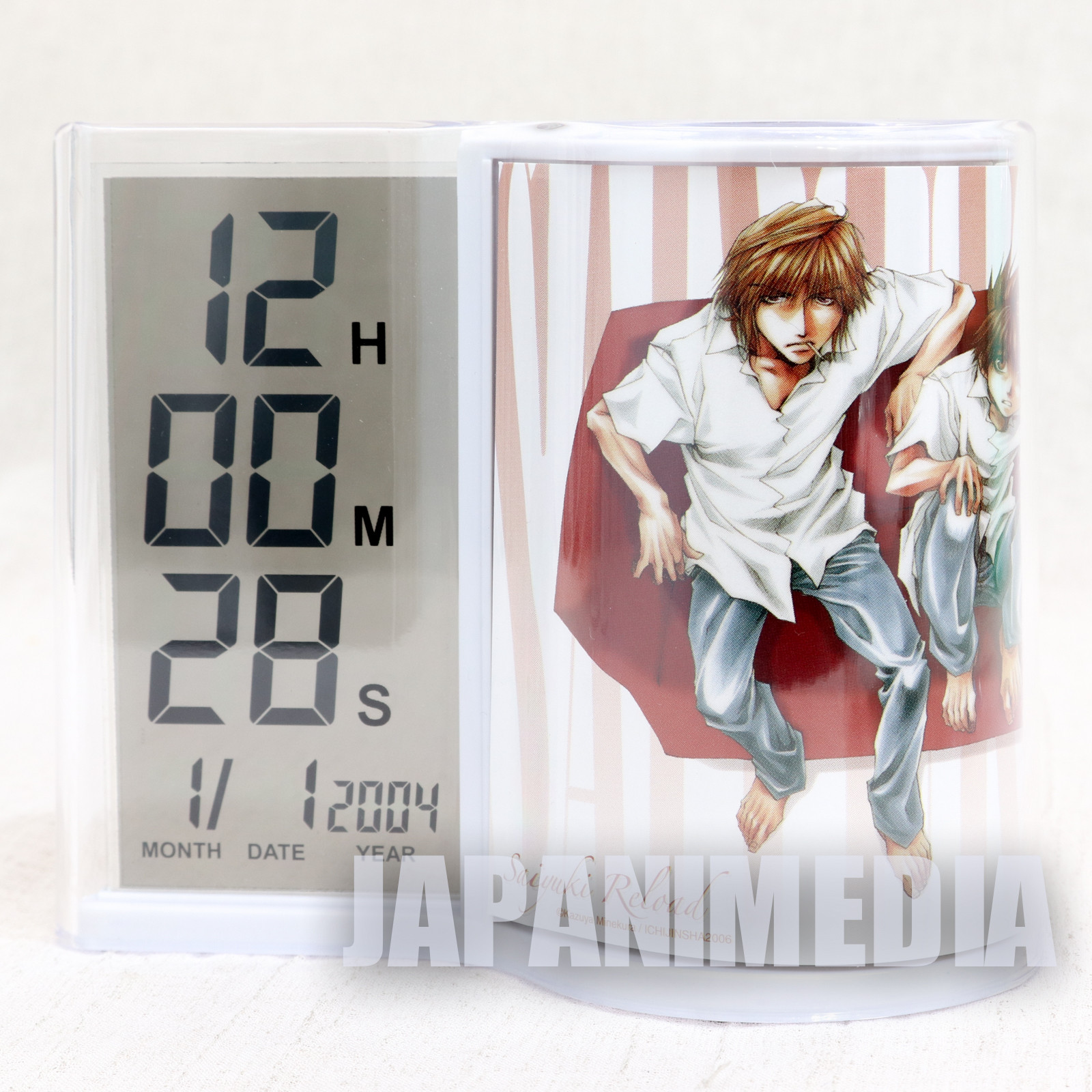 SAIYUKI Reload Digital Clock Pen Stand JAPAN ANIME MANGA