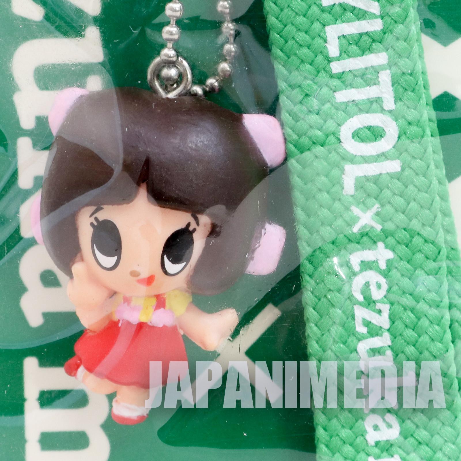 Black Jack Pinoko Mascot Figure Strap XYLITOL 10th Anniversary Tezuka Osamu JAPAN ANIME