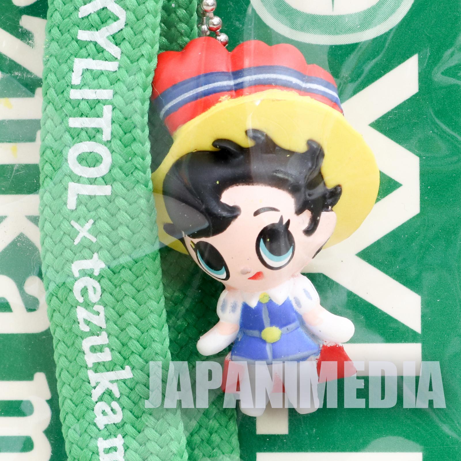 Princess Knight Sapphire Mascot Figure Strap XYLITOL 10th Anniversary Tezuka Osamu JAPAN ANIME