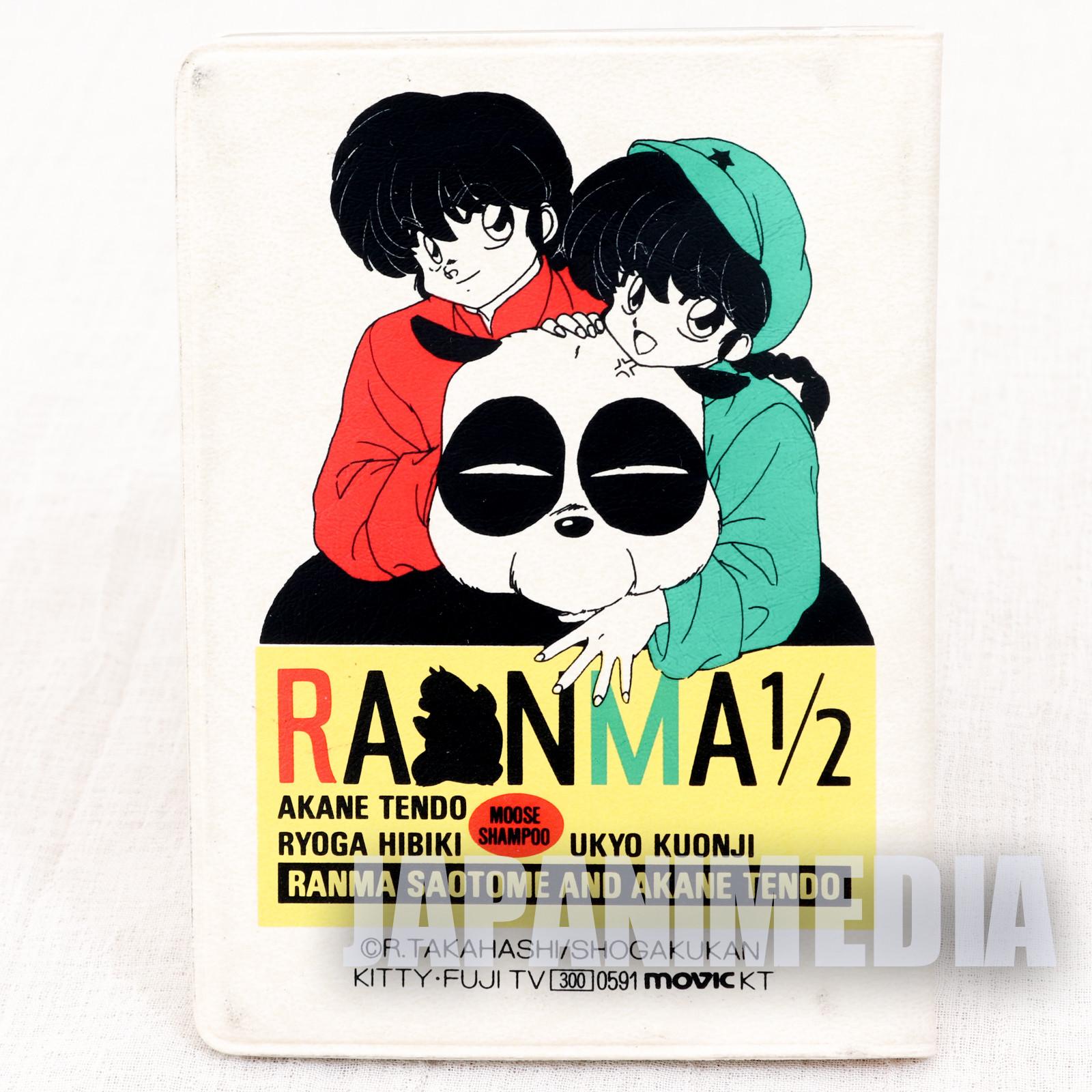Ranma 1/2 Pass Card Case Holder #1 JAPAN ANIME RUMIKO TAKAHASHI
