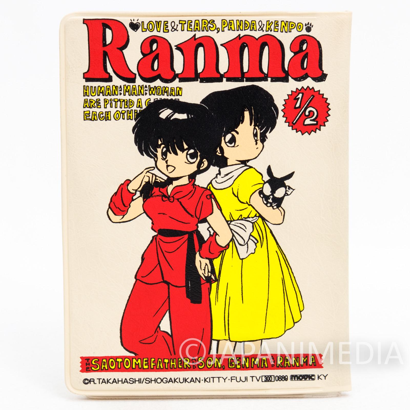 Ranma 1/2 Pass Card Case Holder #2 JAPAN ANIME RUMIKO TAKAHASHI