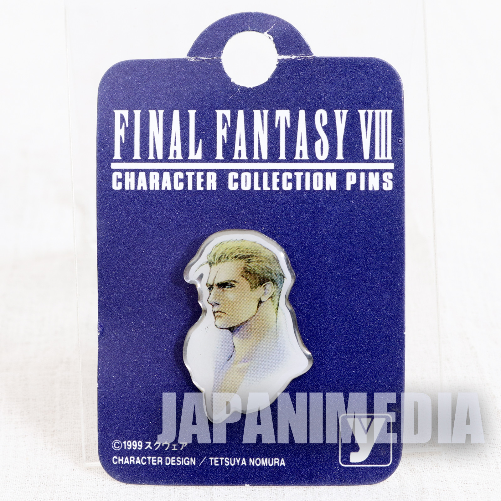 Final Fantasy VIII 8 Seifer Almasy Metal Pins JAPAN SQUARE ENIX GAME