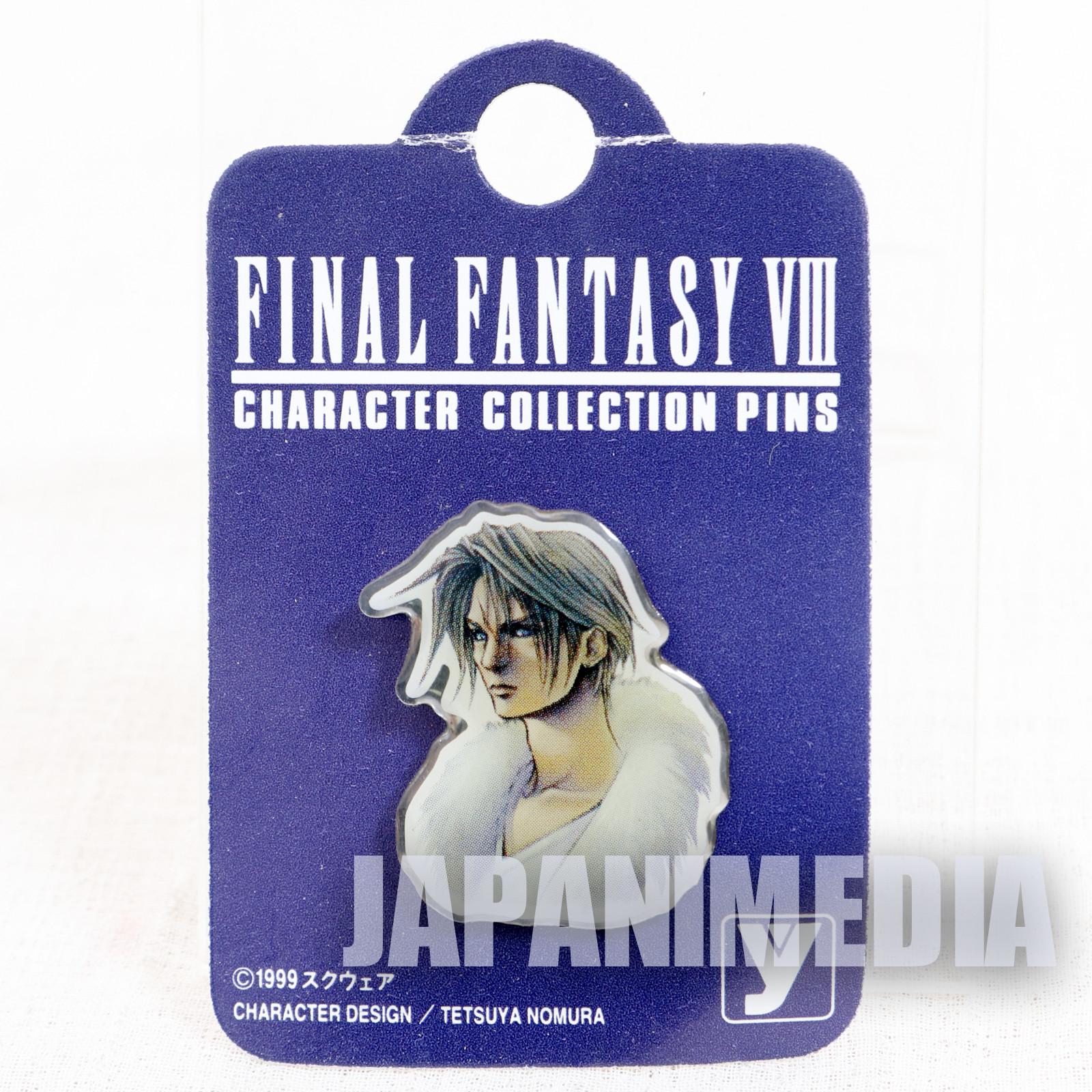 Final Fantasy VIII 8 Squall Leonhart Metal Pins JAPAN SQUARE ENIX GAME