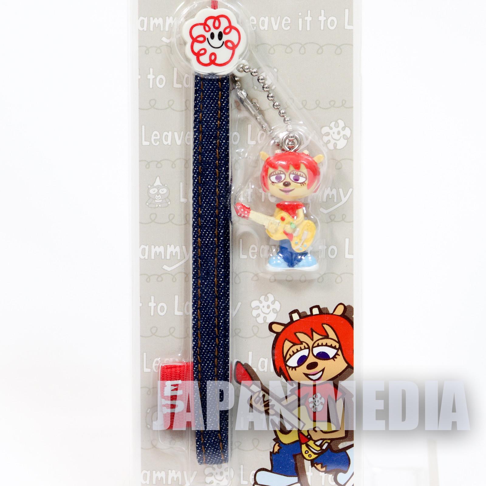 RARE! UmJammer Lammy Figure Strap JAPAN ANIME GAME