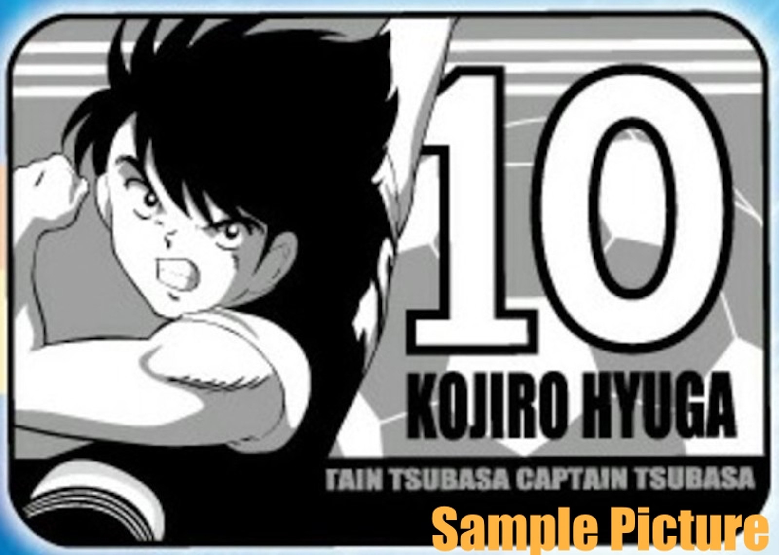 Captain Tsubasa Kojiro Hyuga Blanket 100x70cm (39x28inch) JAPAN ANIME MANGA