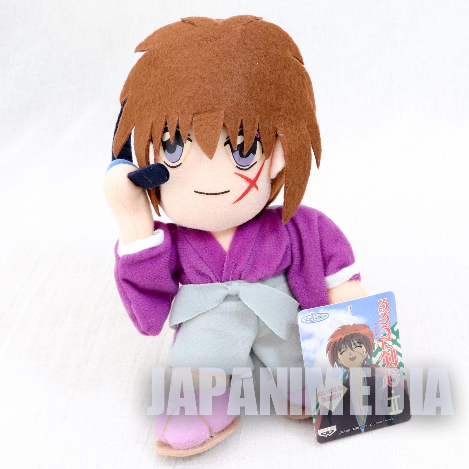 Rurouni Kenshin Himura Kenshin Plush Doll JAPAN ANIME MANGA 2