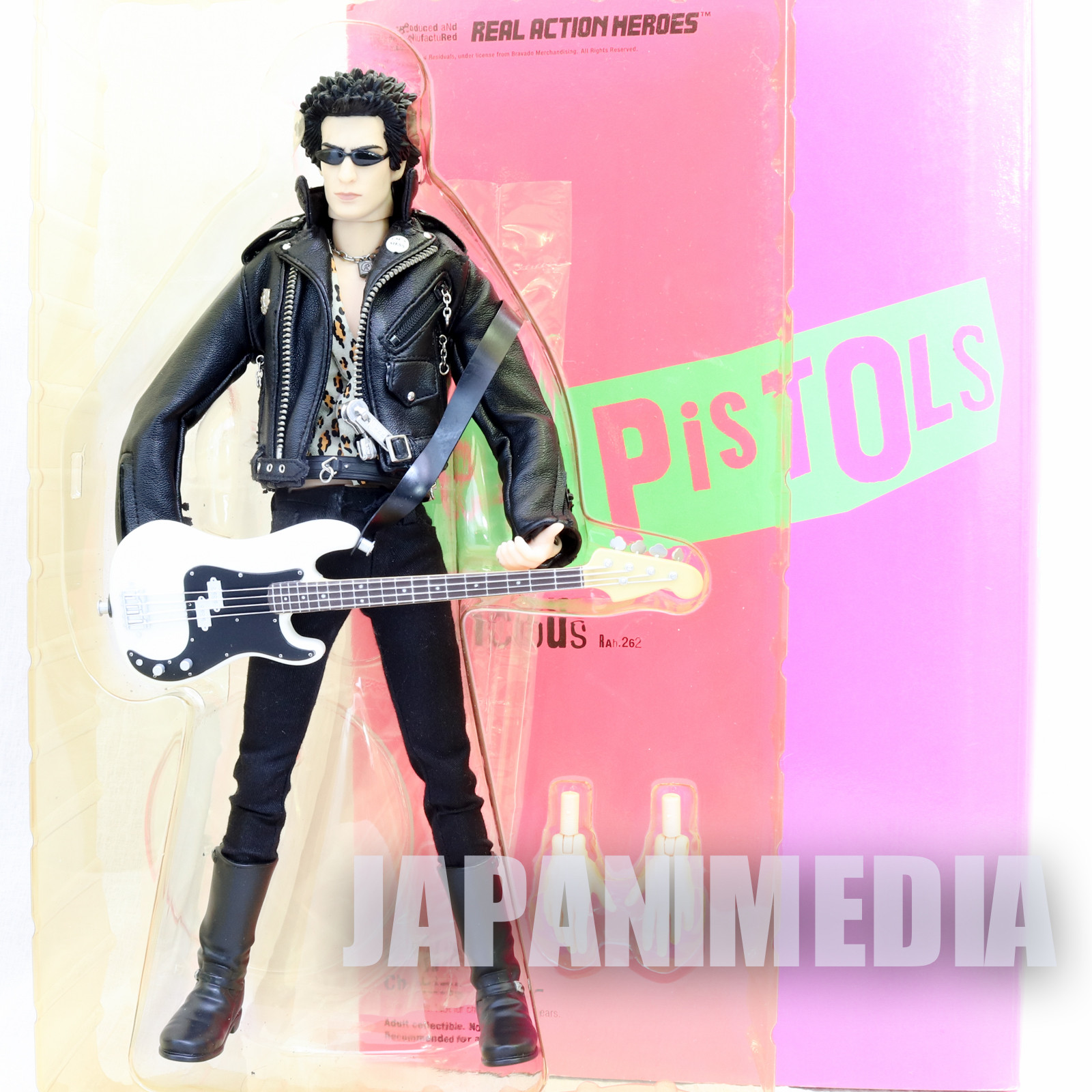 (JUNK/Damage) Sid Vicious Sex Pistols Real Action Heroes RAH Figure Medicom Toy