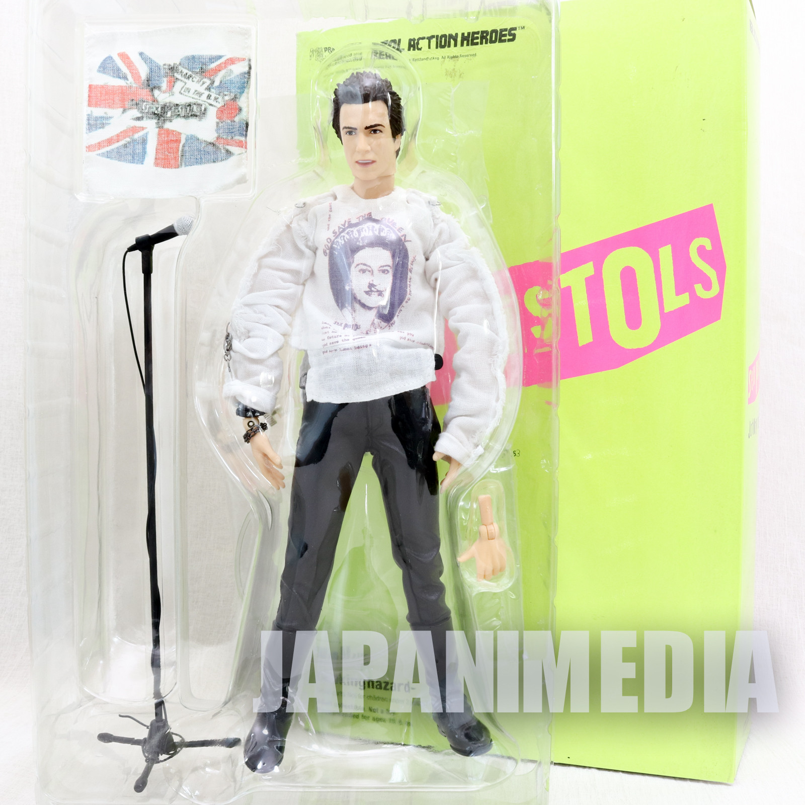 Johnny Rotten Sex Pistols Real Action Heroes RAH Figure Medicom Toy