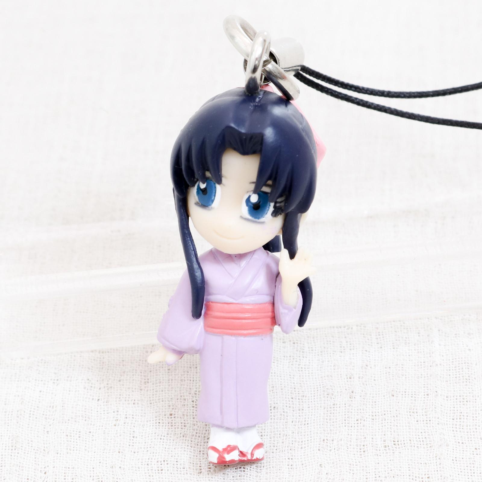 Rurouni Kenshin Kaoru Kamiya Mascot Figure Strap Bandai JAPAN ANIME MANGA