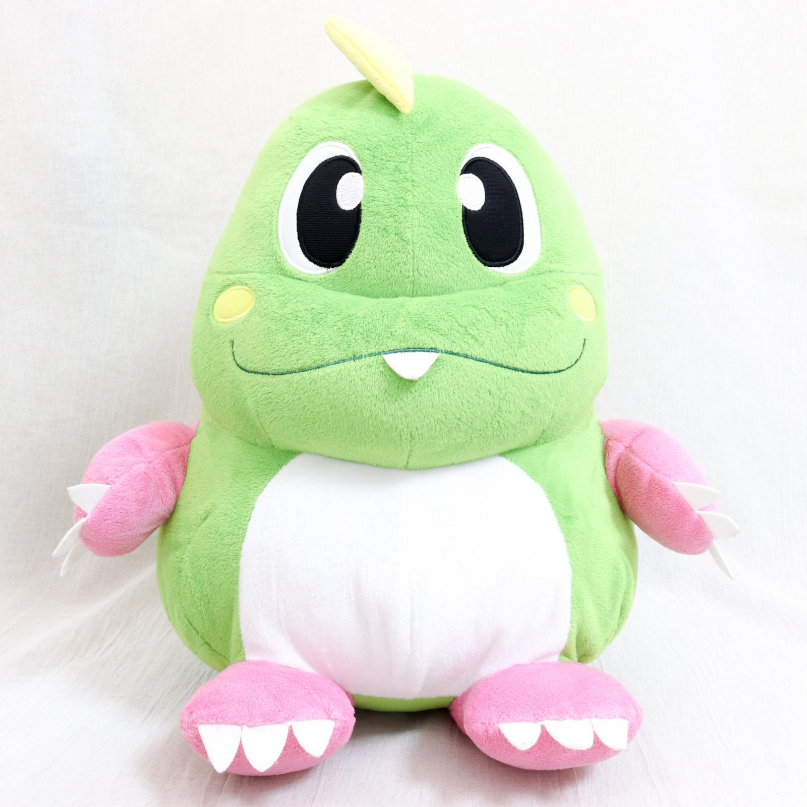 "Bubble Bobble Bub Bubblun Dragon 14"" XL Size Plush Doll Taito JAPAN GAME NES"