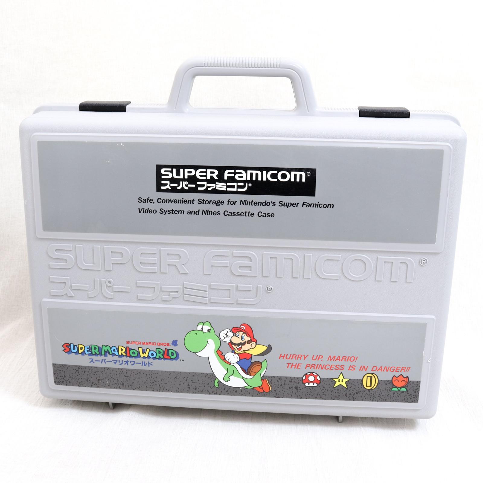 Retro RARE! Super Famicom Mario World Cassete Plastic Case JAPAN NINTNEDO SNES