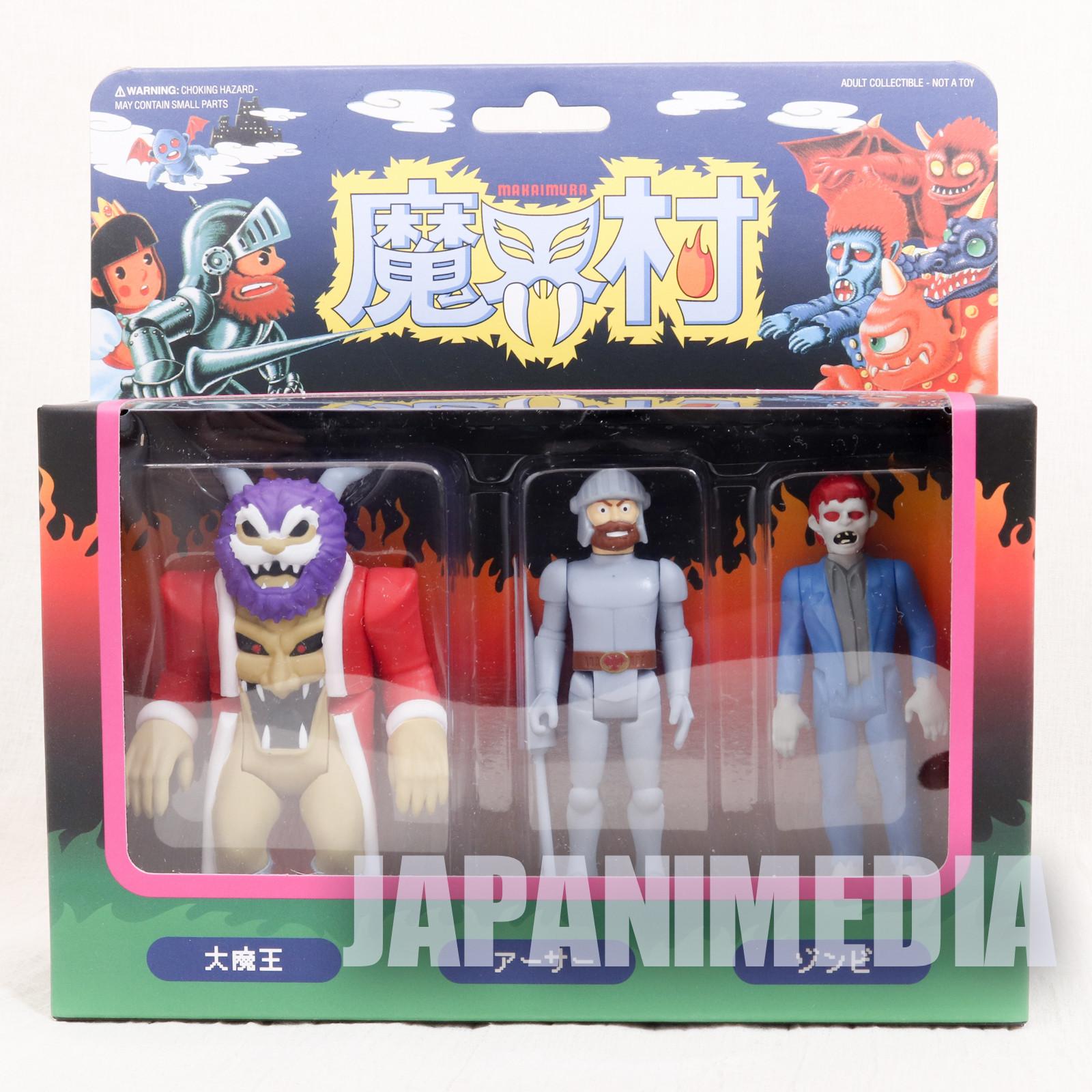 Ghosts'n Goblins Re-Action Series 3pc Figure Set #1 Super 7 JAPAN CAPCOM
