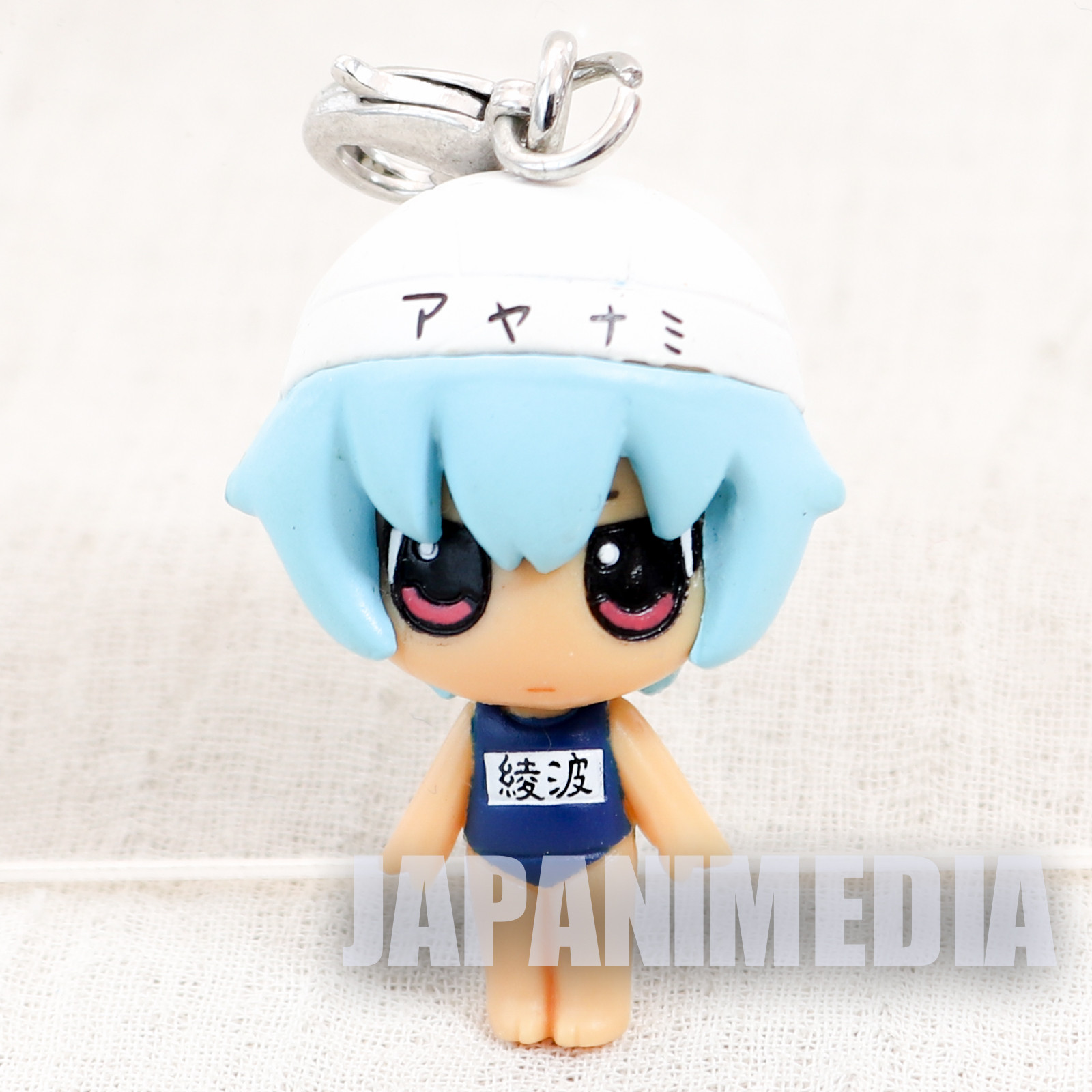Evangelion Rei Ayanami Swimsuit Petit EVA Chara Fortune Mini Figure Charm