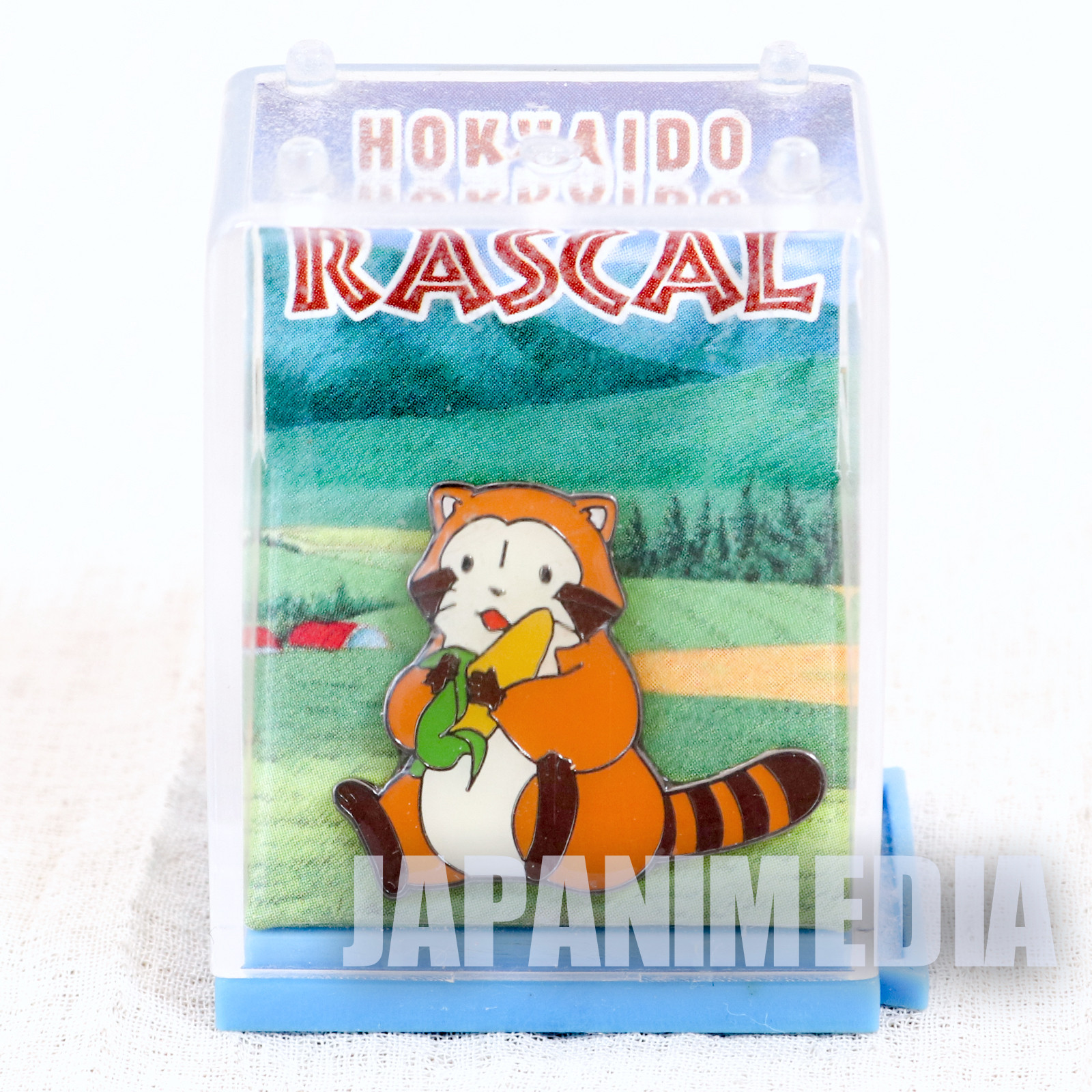 Hokkaido Rascal the Raccoon Metal Pins ANIME World Masterpiece Theater