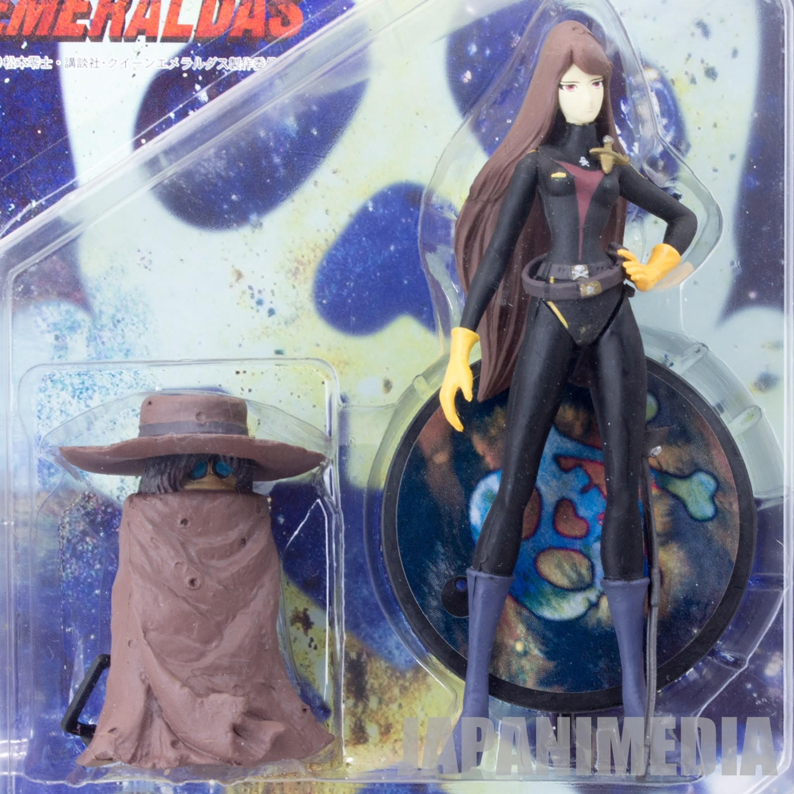 Queen Emeraldas & Tochiro Action Figure JAPAN ANIME MANGA 999 REIJI MATSUMOTO