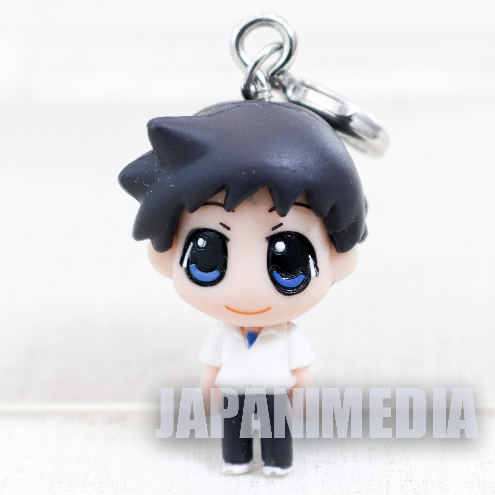 Evangelion Shinji Ikari School Uniform Petit EVA Chara Fortune Mini Figure Charm