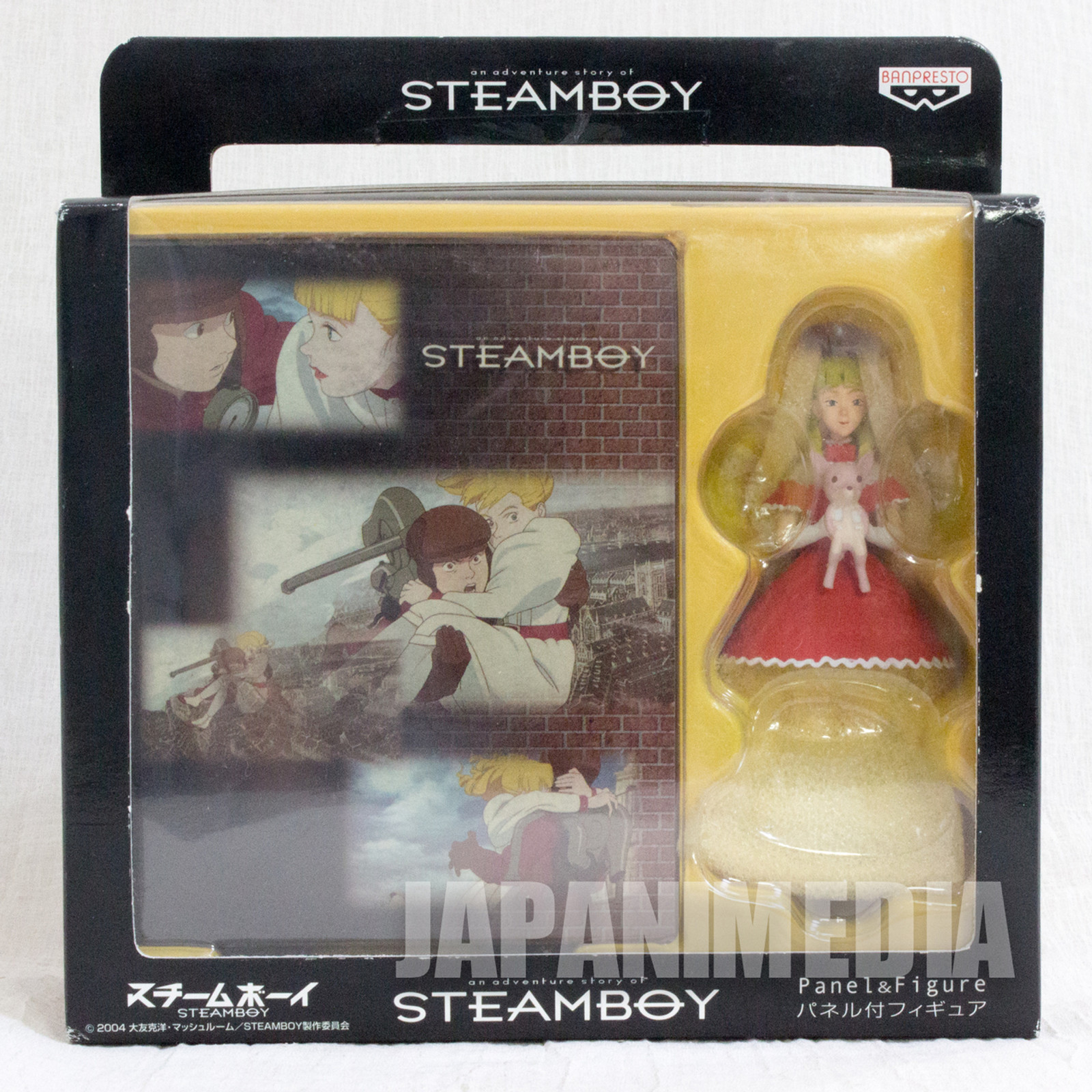 STEAMBOY Scarlett Panel & Figure Kathuhiro Otomo Banpresto JAPAN ANIME MANGA