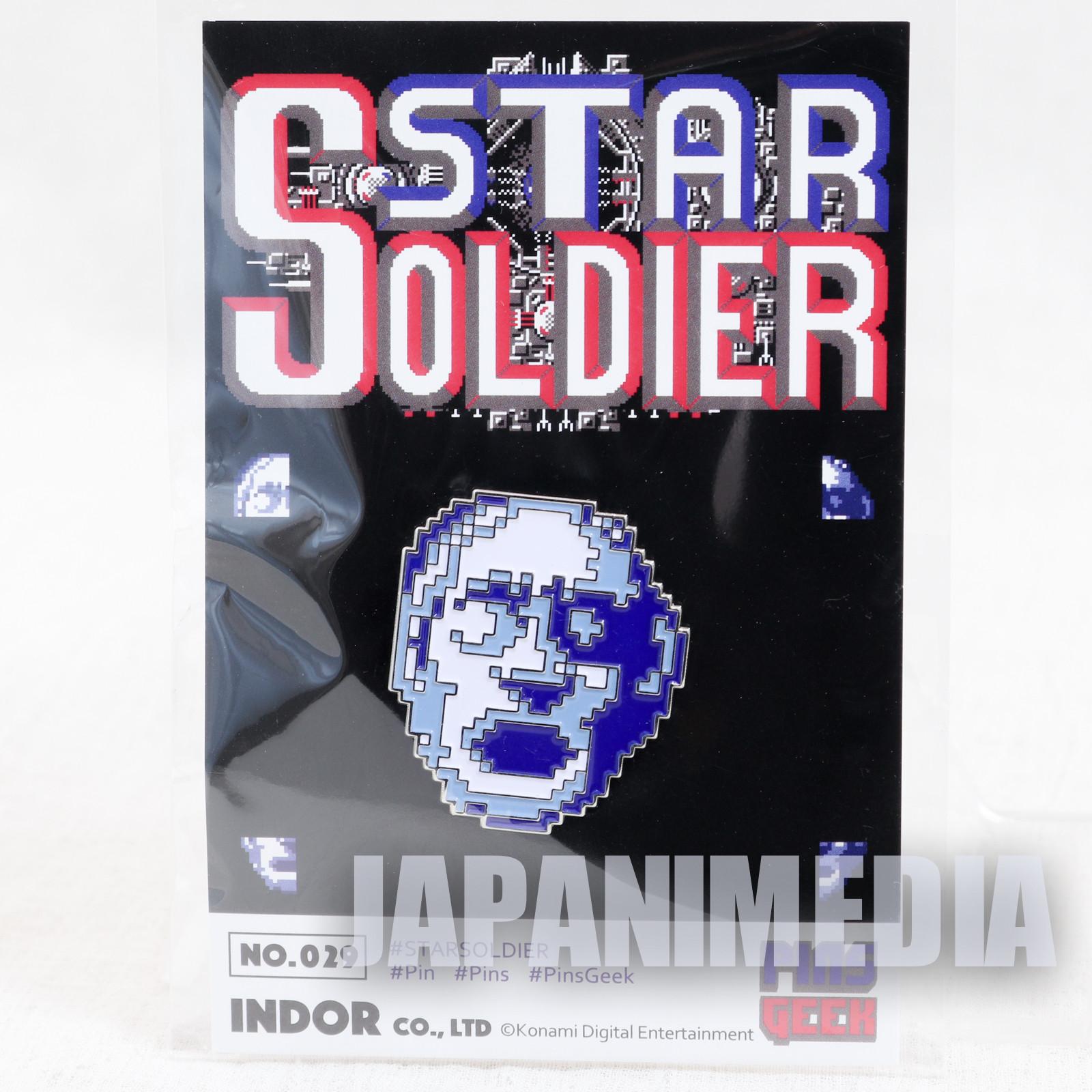 Star Soldier Metal Pins JAPAN GAME HUDSON