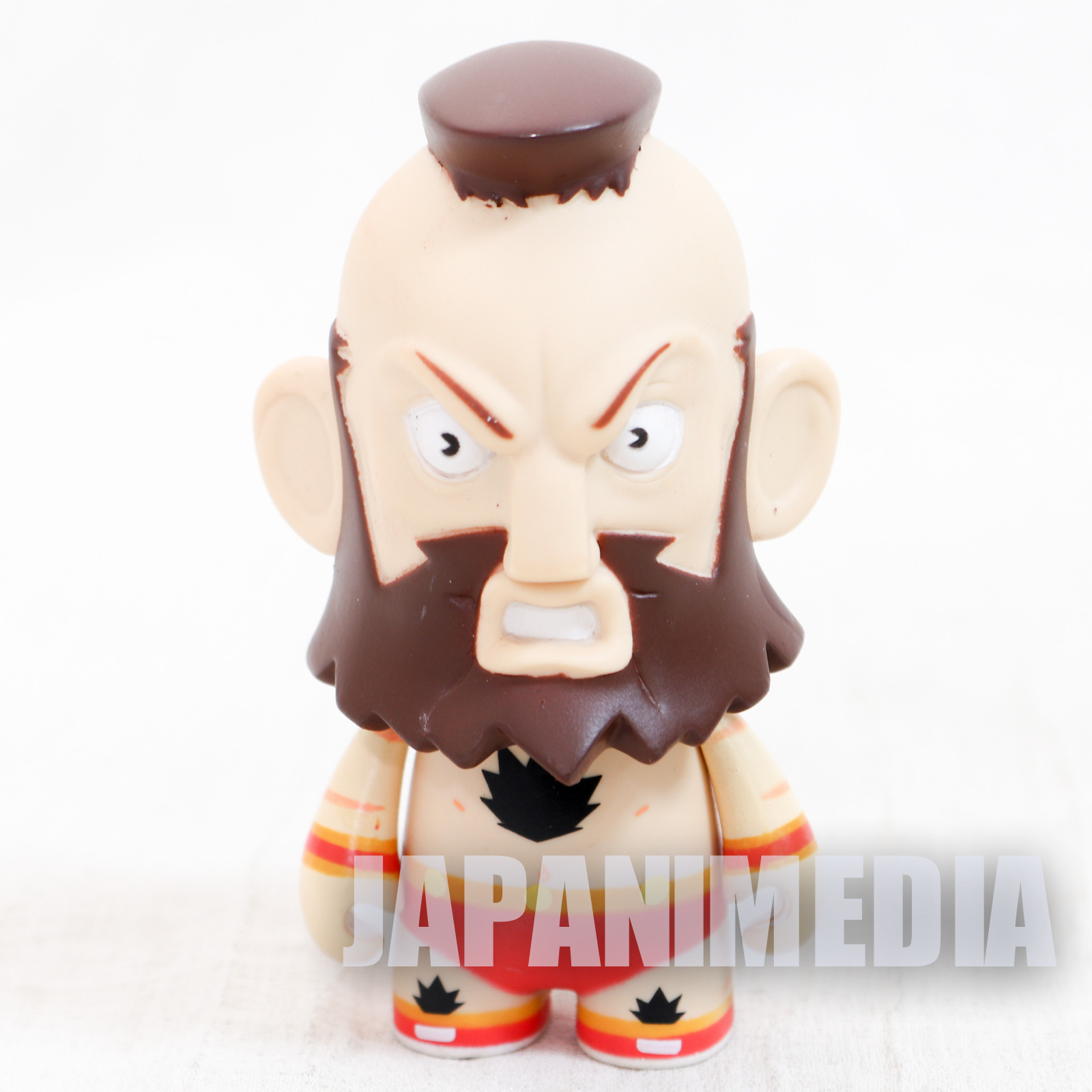 Street Fighter 2 Zangief Kidrobot Figure Capcom Character JAPAN GAME
