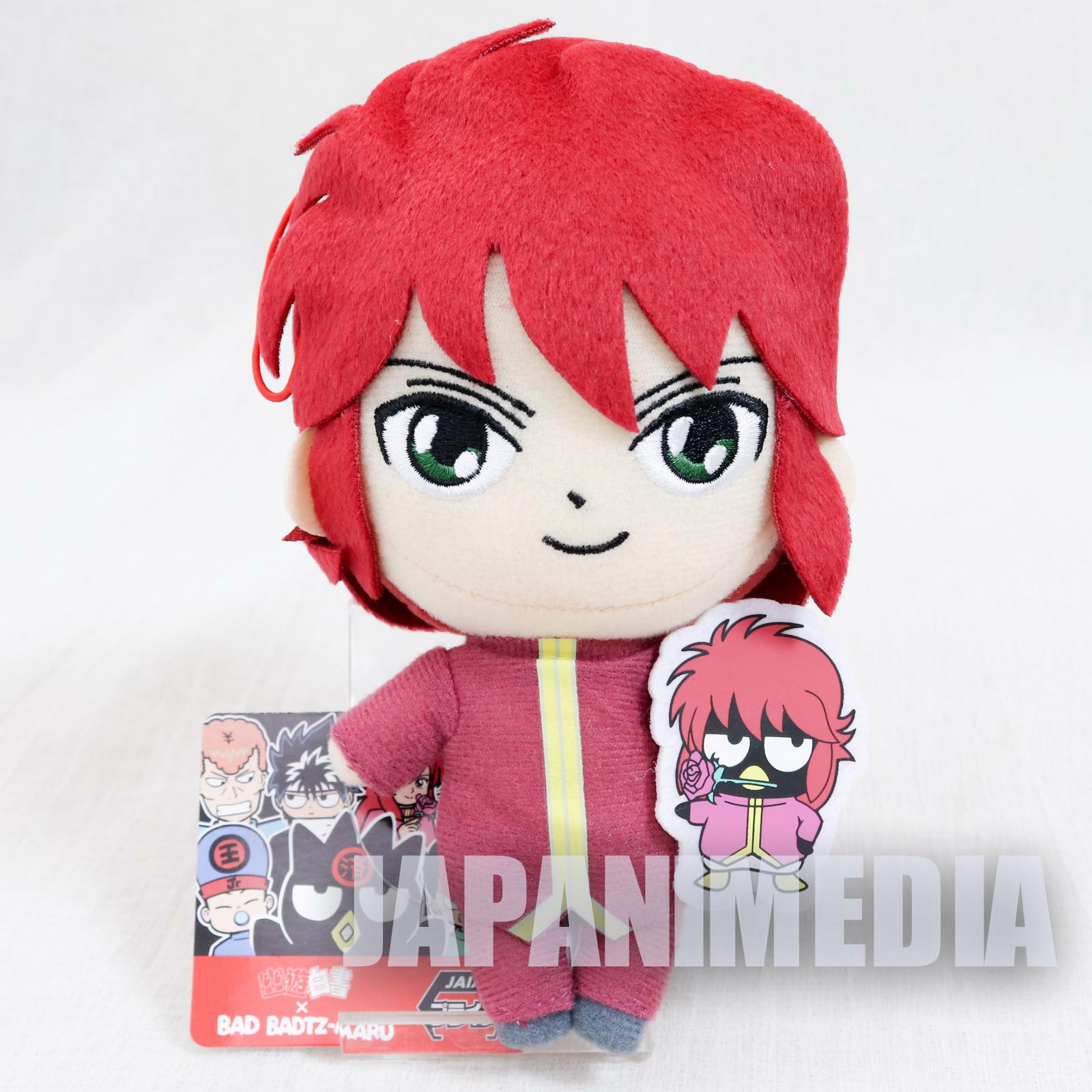 Yu Yu Hakusho Bad Badtz-Maru Kurama Plush Doll JAPAN ANIME MANGA