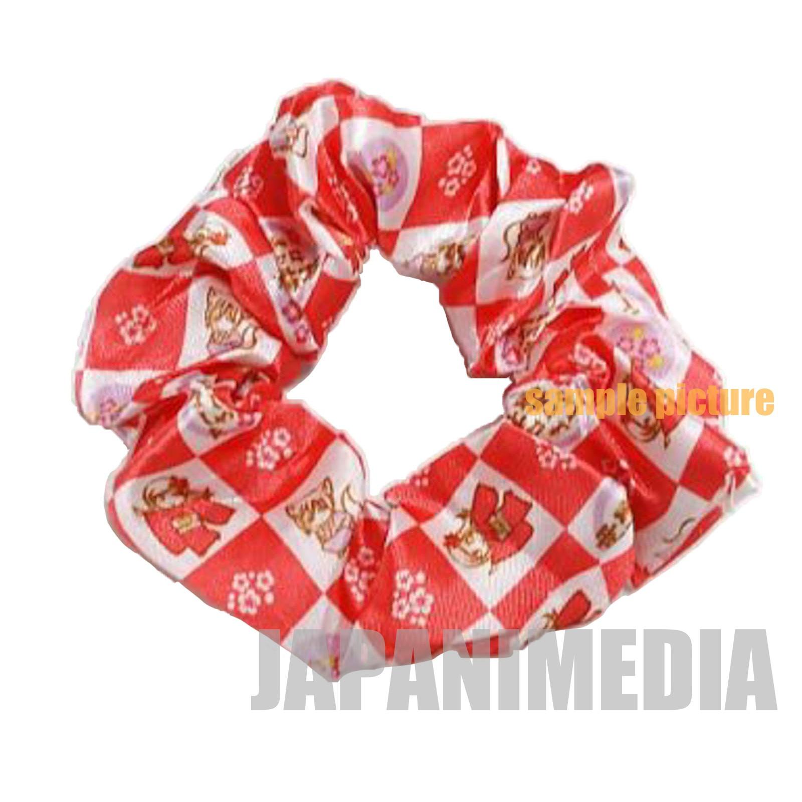 Kamisama Kiss Nanami Momozono & Tomoe Red x White Scrunchie JAPAN ANIME