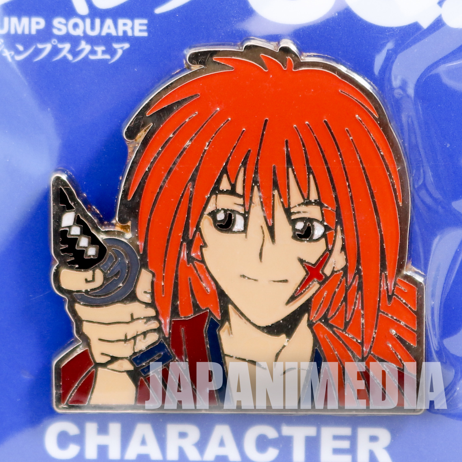 Rurouni Kenshin Himura Kenshin Metal Pins Shonen Jump SQ JAPAN ANIME MANGA
