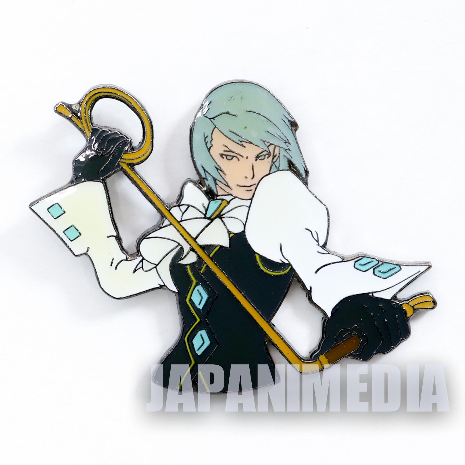 Ace Attorney Gyakuten Saiban Metal Pins Mei Karuma Franziska von Karma Capcom