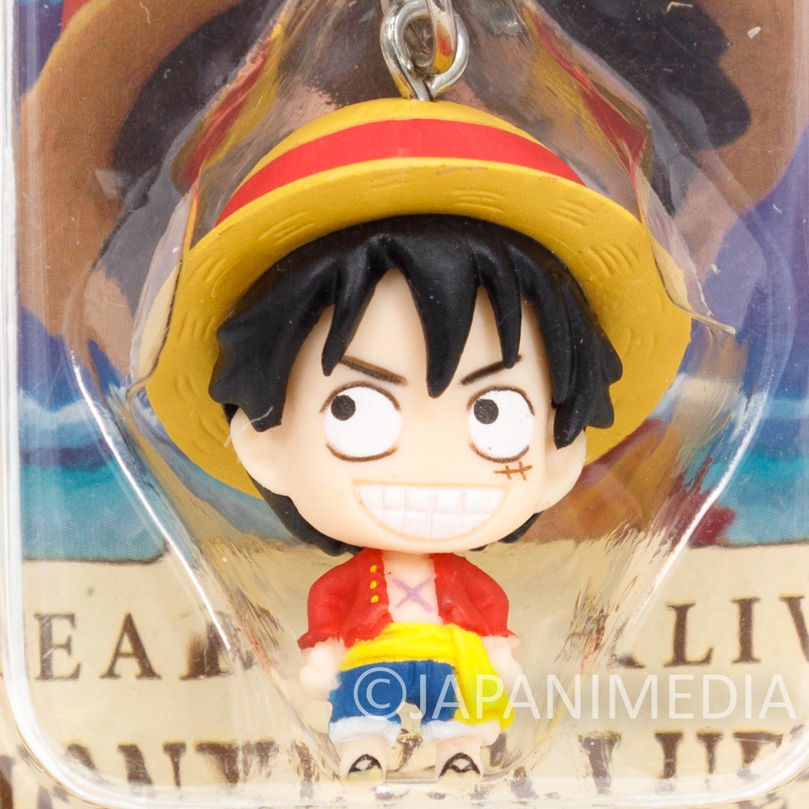 One Piece Monkey D. Luffy Mini Figure Chara Fortune Megahouse JAPAN ANIME