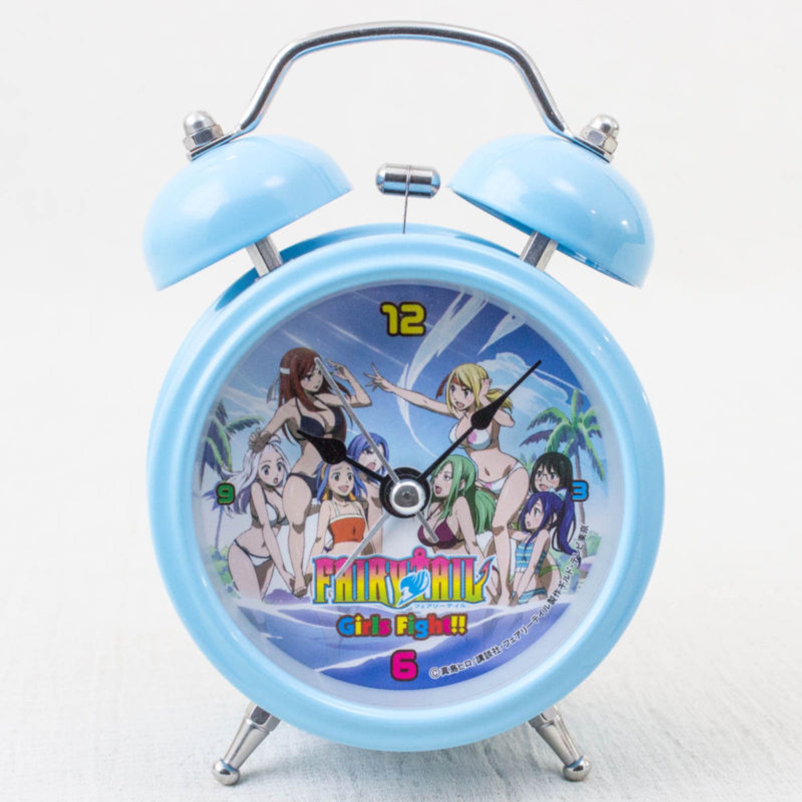 FAIRY TAIL Mini Alarm Clock Light Blue Ver. Taito JAPAN ANIME MANGA