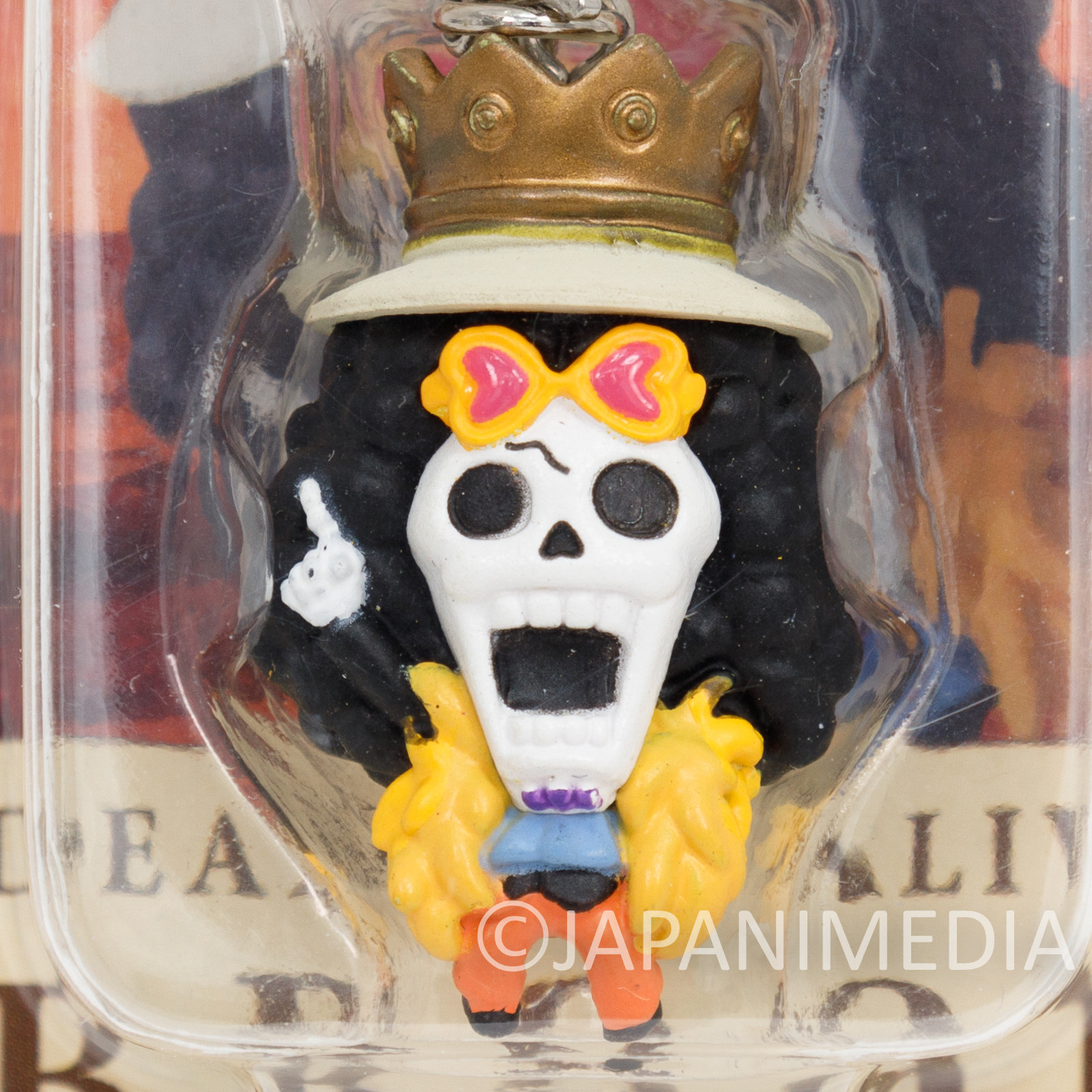 One Piece Brook Mini Figure Chara Fortune Megahouse JAPAN ANIME