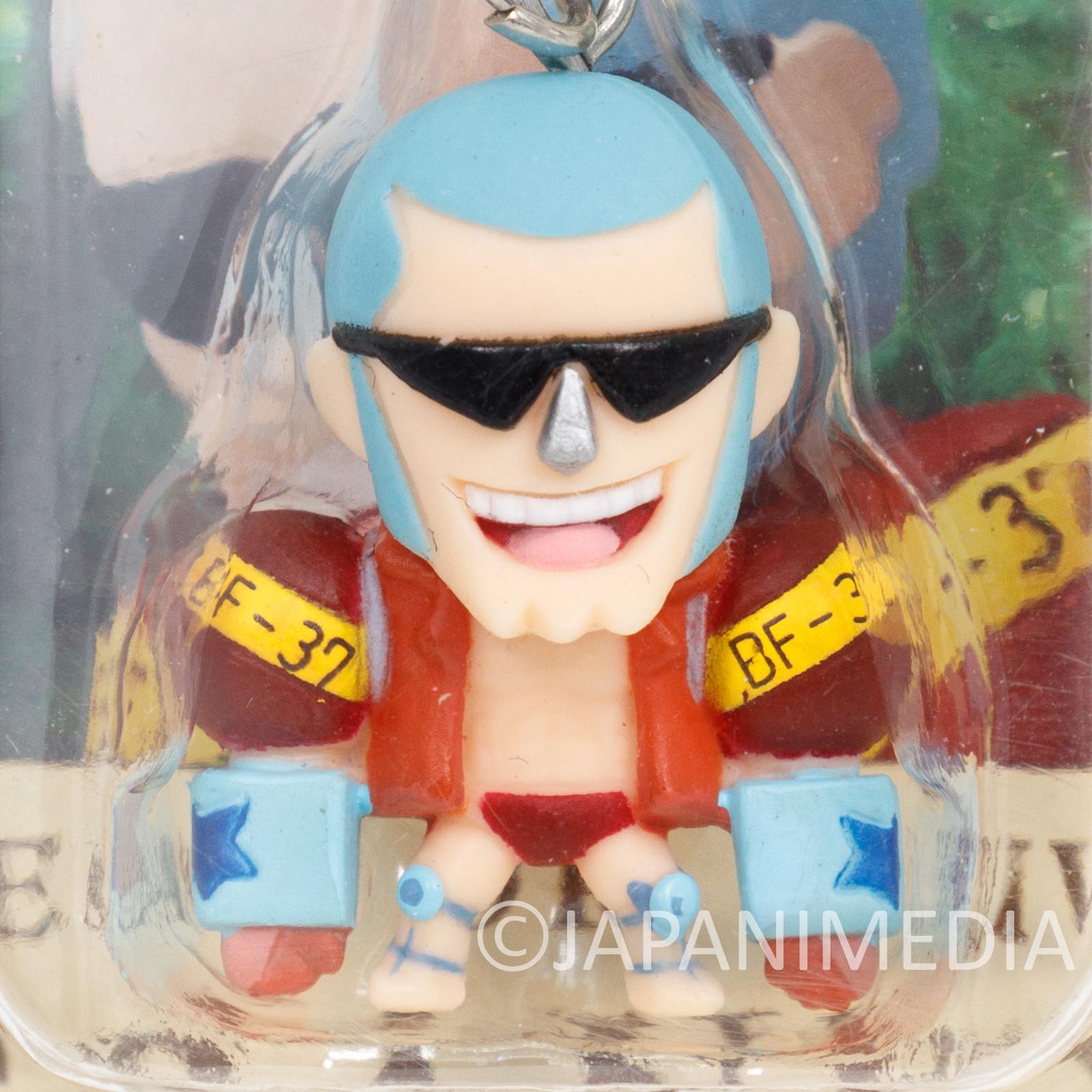 One Piece Franky Mini Figure Chara Fortune Megahouse JAPAN ANIME