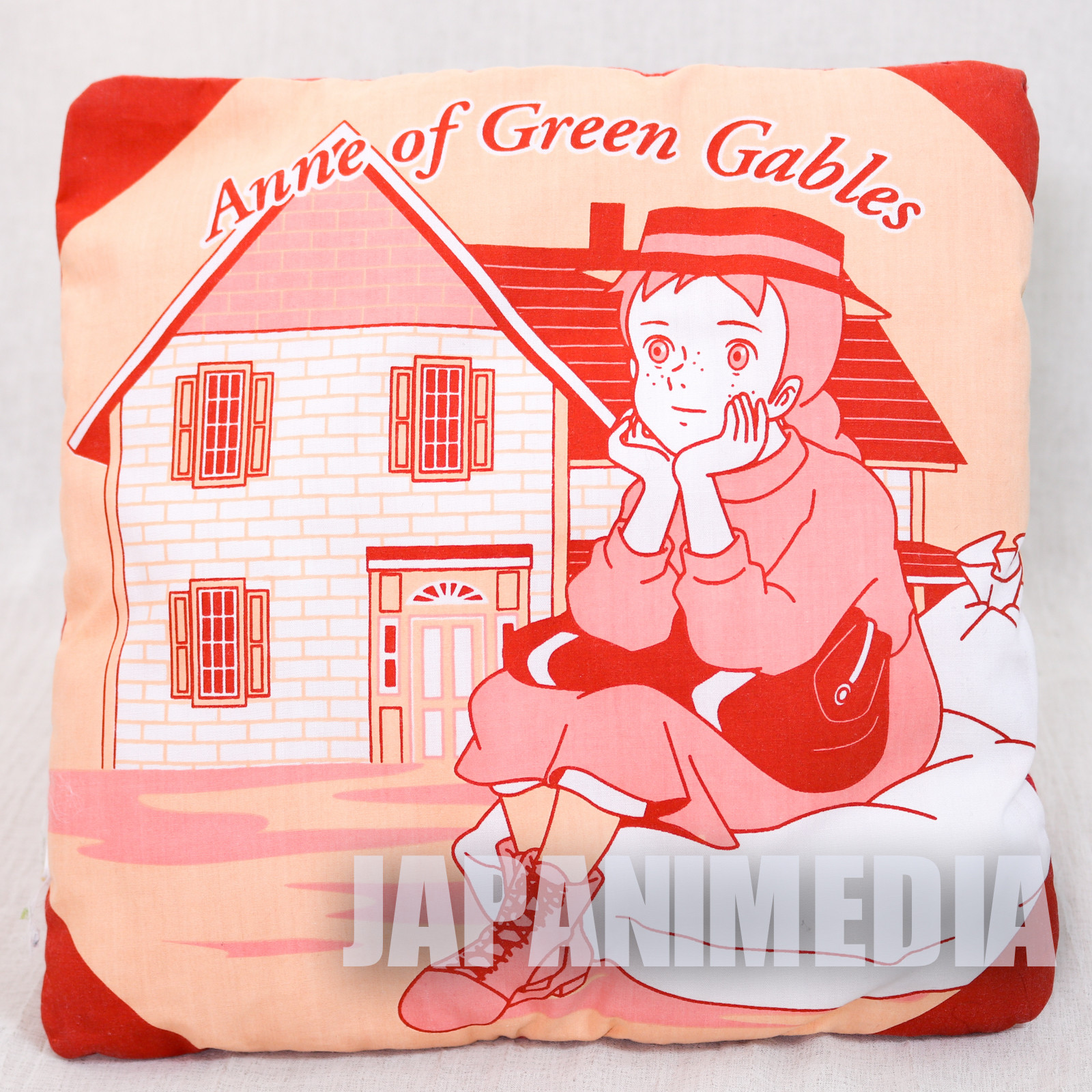 {Damaged} Anne of Green Gables Small Size Cushion World Masterpiece Theater ANIME