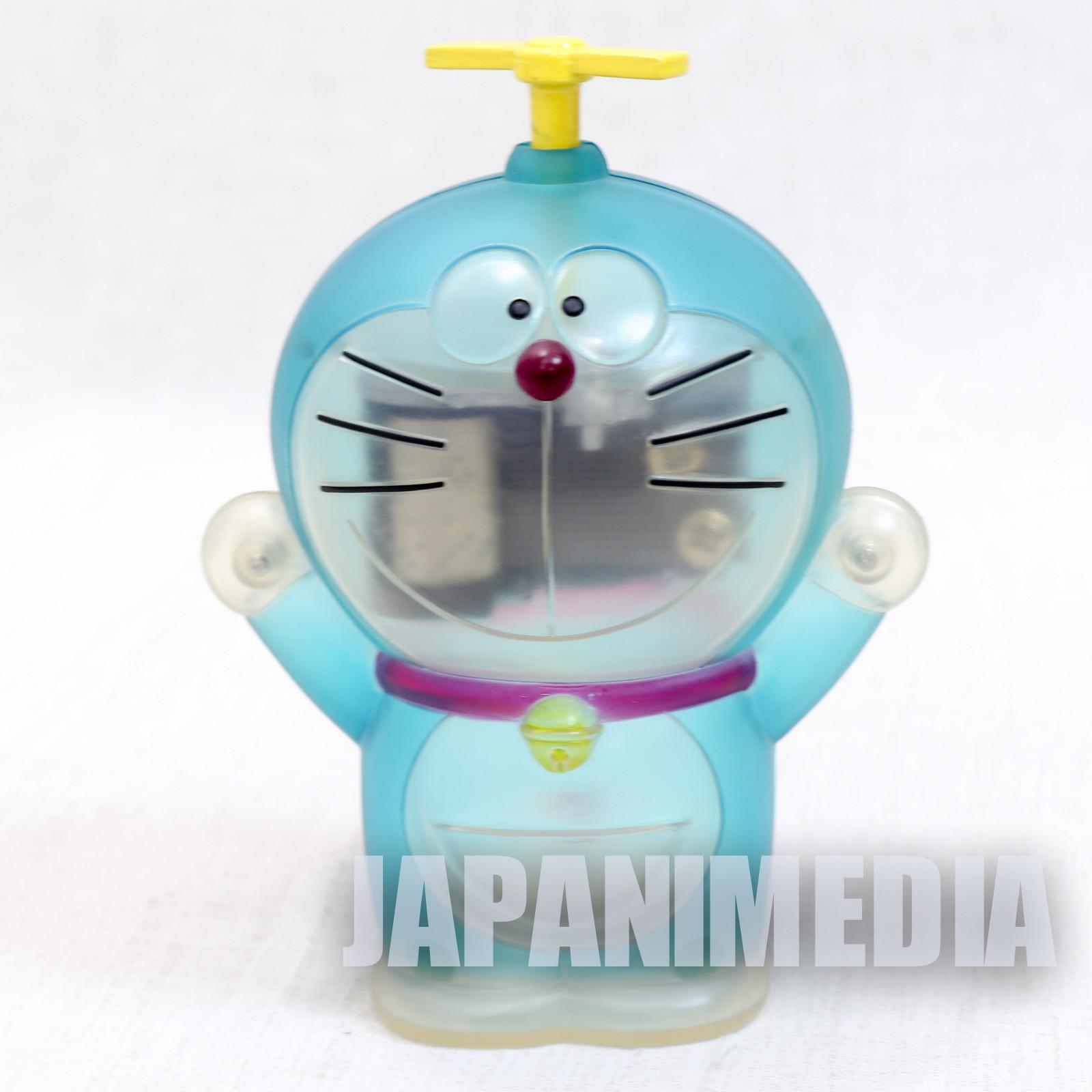Doraemon Figure type Music Box Clear Blue Ver. OP Theme Song JAPAN ANIME  FUJIO (No box)