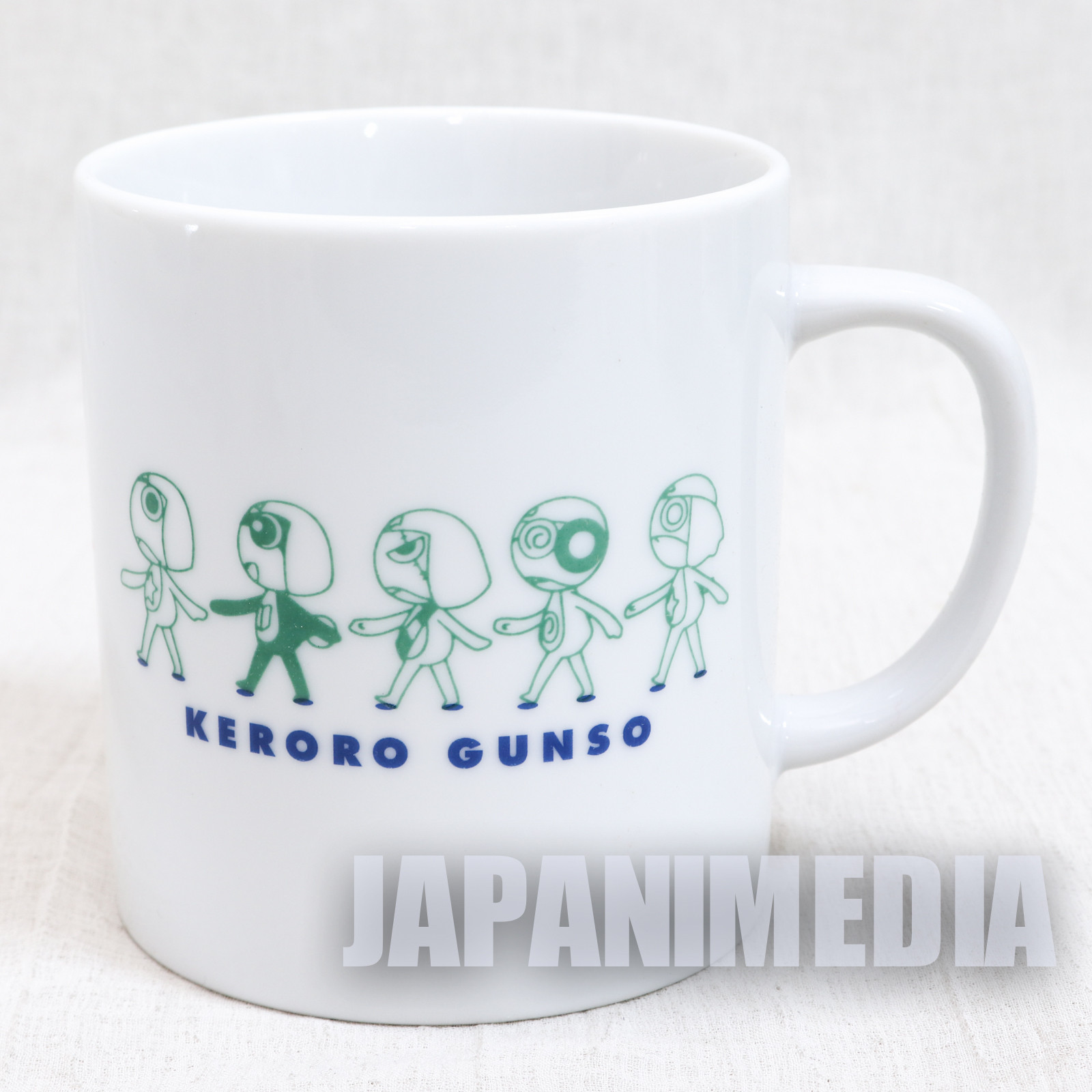 Sgt. Frog Keroro Gunso Anti Barrier Mug Movic JAPAN ANIME MANGA
