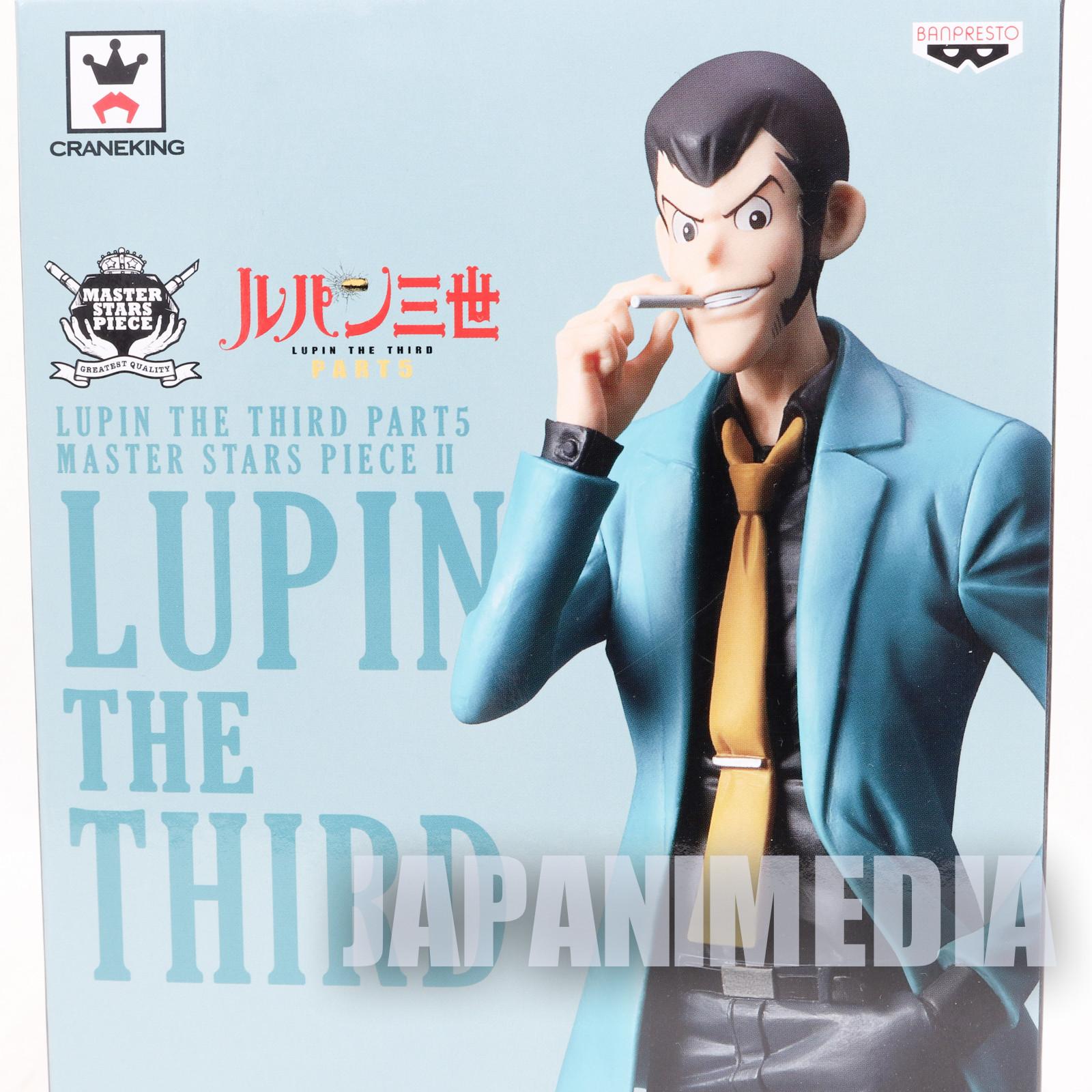 "Lupin the Third Master Stars Piece 10"" Figure Banpresto JAPAN ANIME"