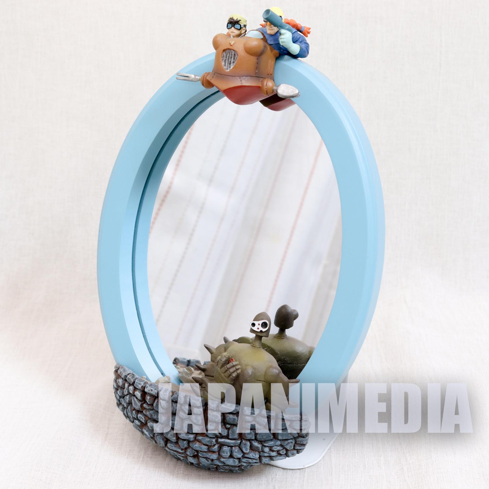 Castle in the Sky Pazu & Dora Robot Soldier Wall Hanging Mirror Ghibli