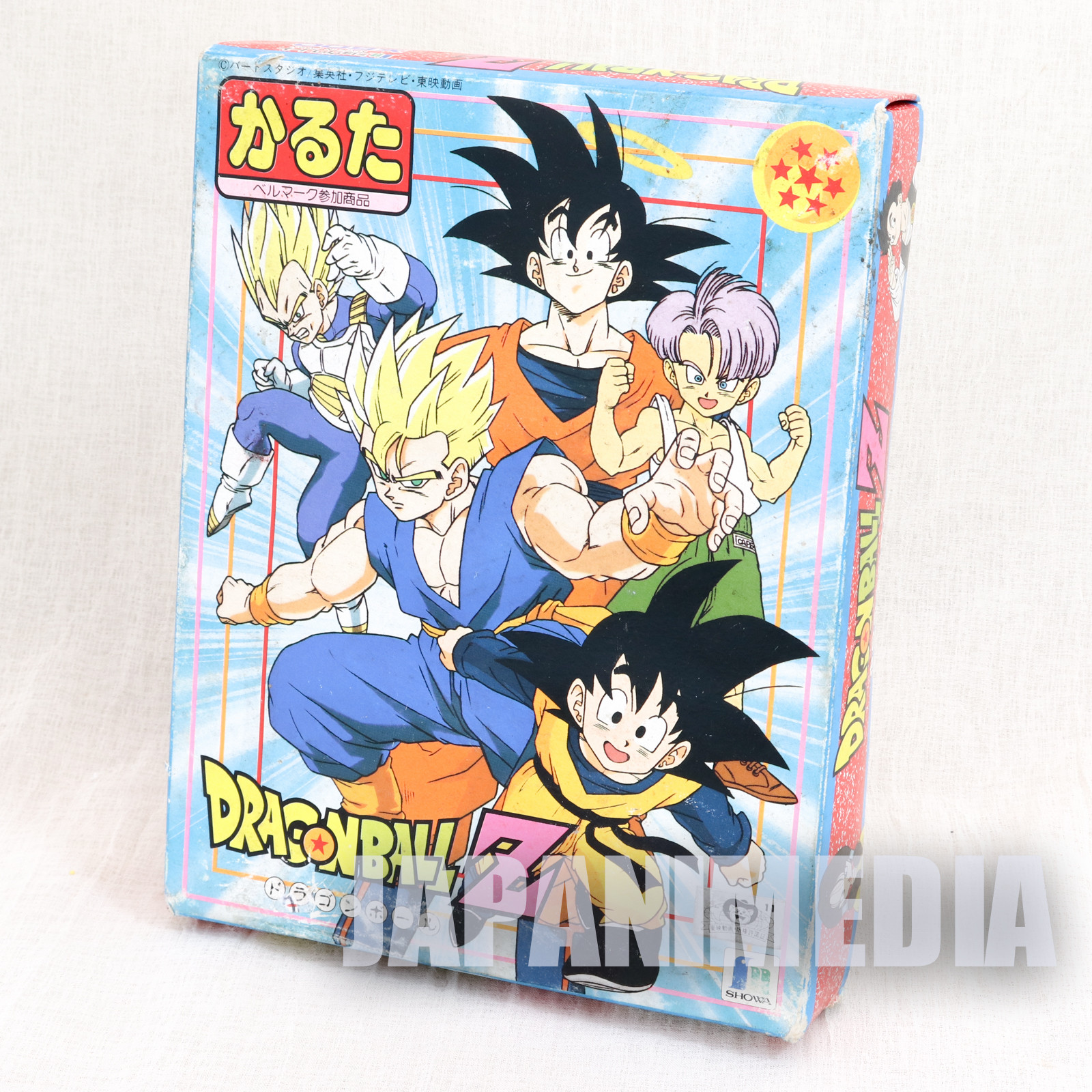 Dragon Ball Z Japanese Playing Cards KARUTA GAME Showa Note JAPAN ANIME