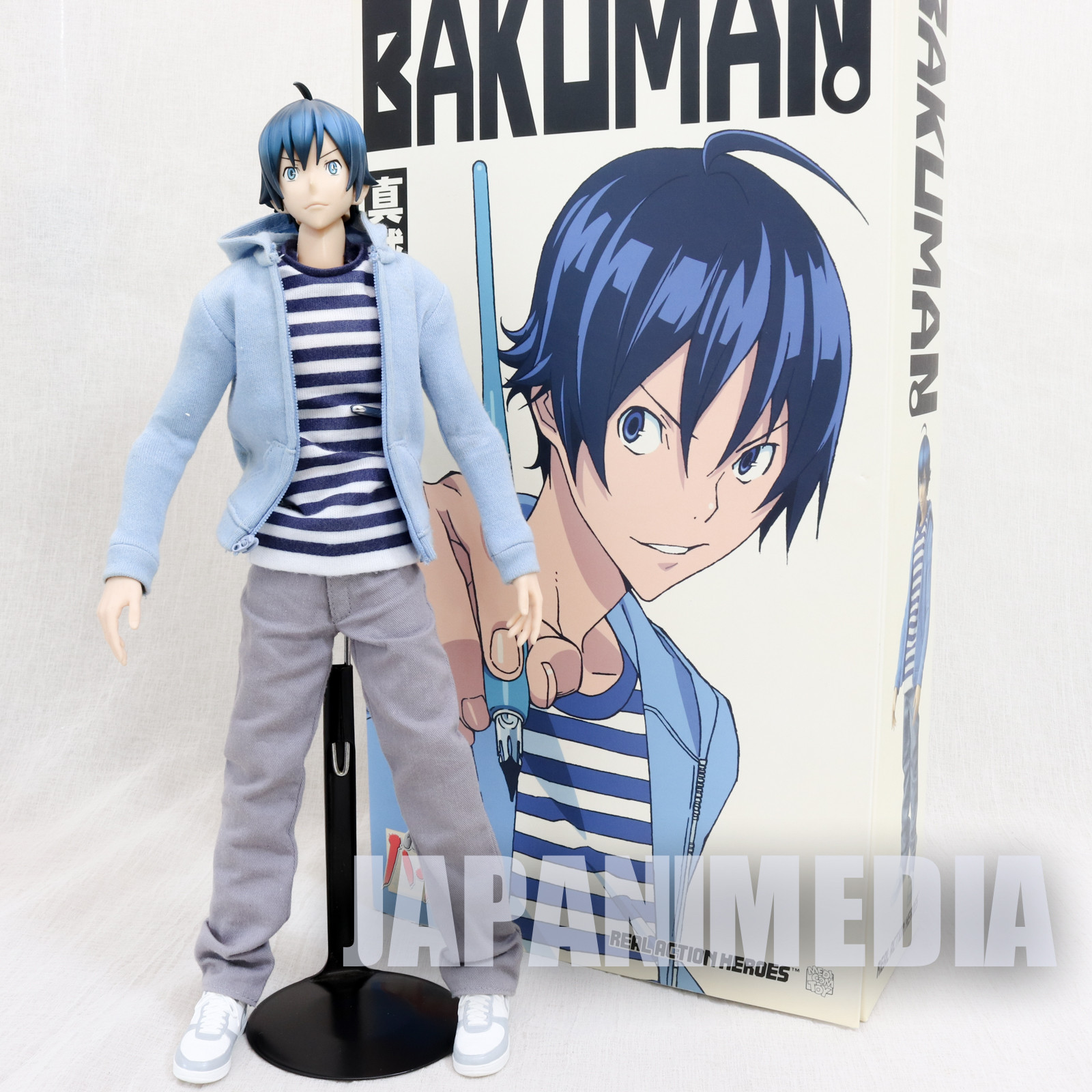 Bakuman Moritaka Mashiro Figure RAH Medicom Toy JAPAN ANIME MANGA