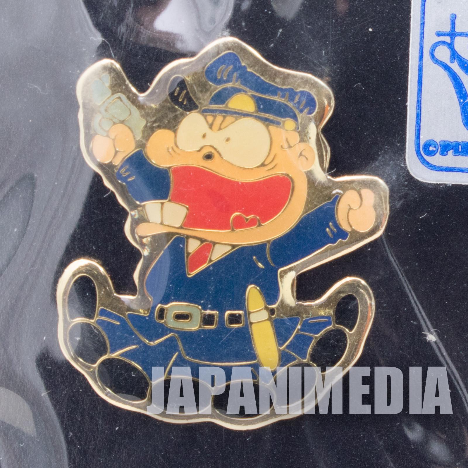 Genius Tensai Bakabon Police Officer Metal Pins Fujio Akatsuka JAPAN ANIME
