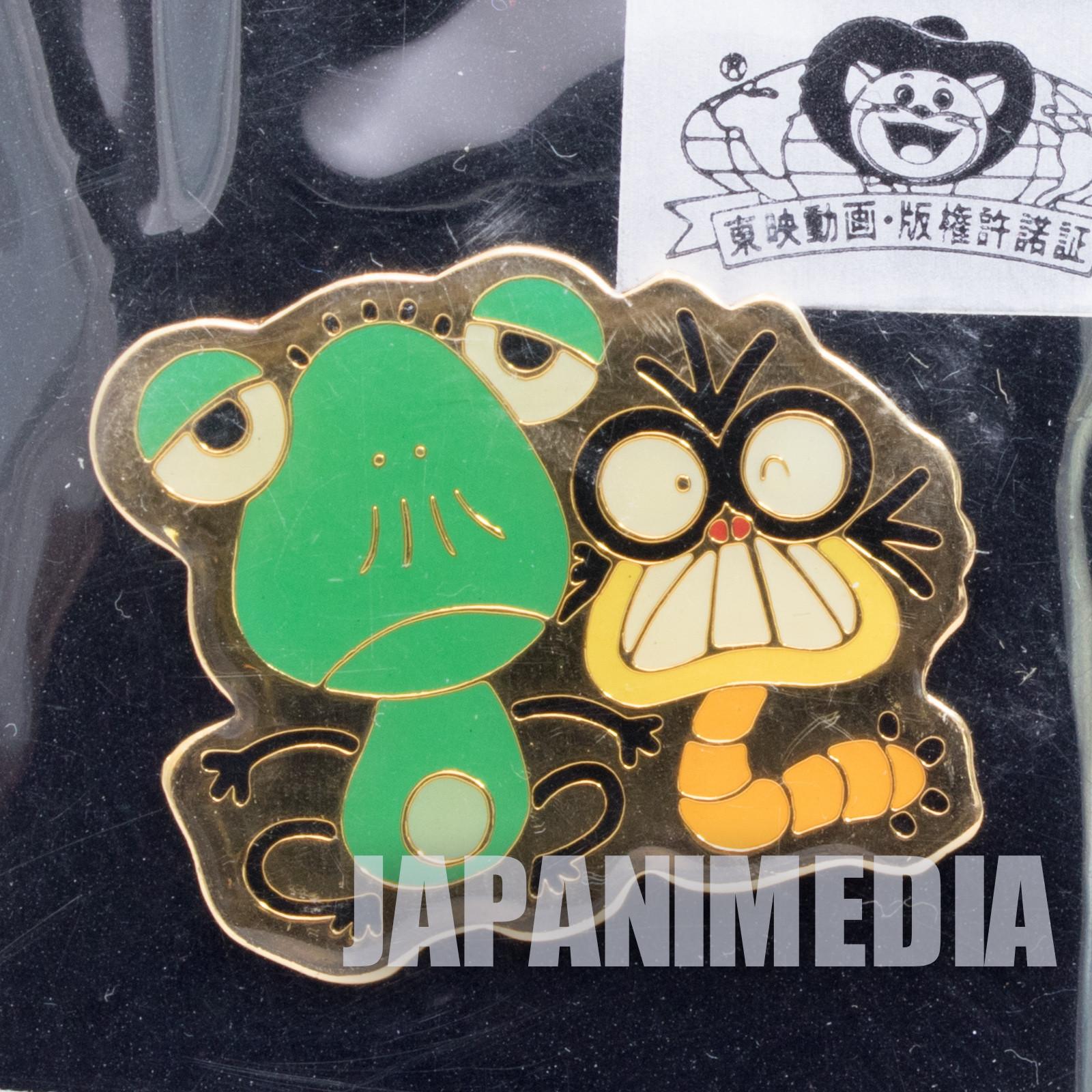 Genius Tensai Bakabon Kemunpasu Metal Pins Fujio Akatsuka JAPAN ANIME