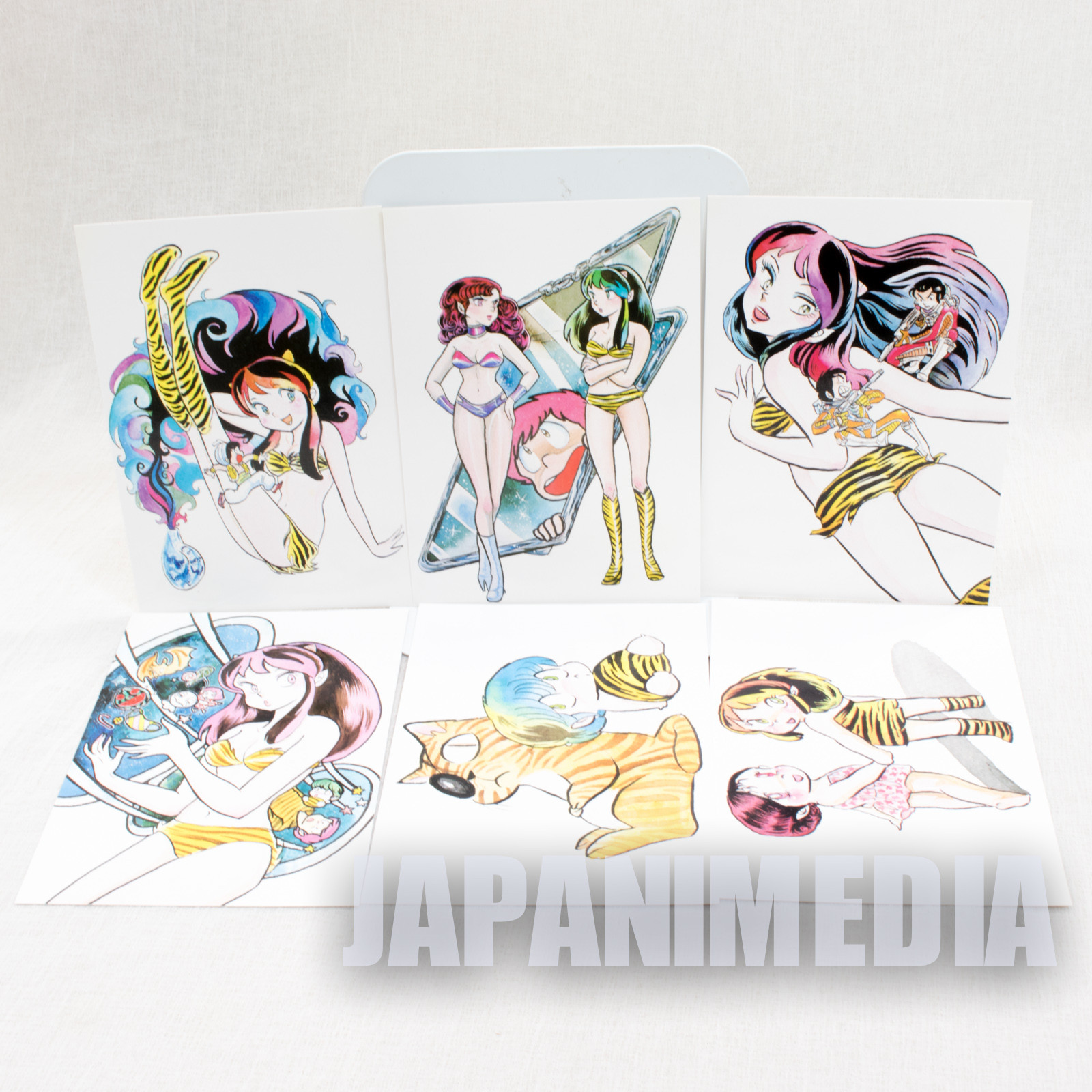 Urusei Yatsura Post Card 6pc Set JAPAN ANIME